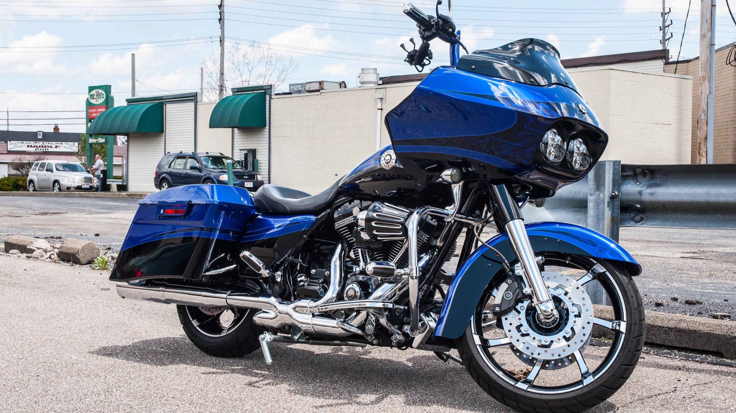 Harley-Davidson CVO Road Glide - Full Paint Correction, Ceramic Pro