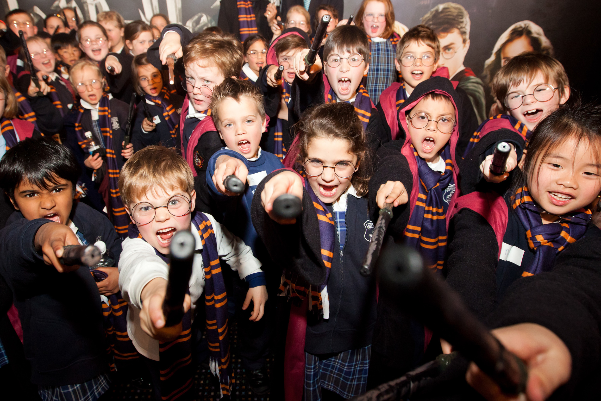 Harry Potter Exhibition preview event at Powerhouse Museum