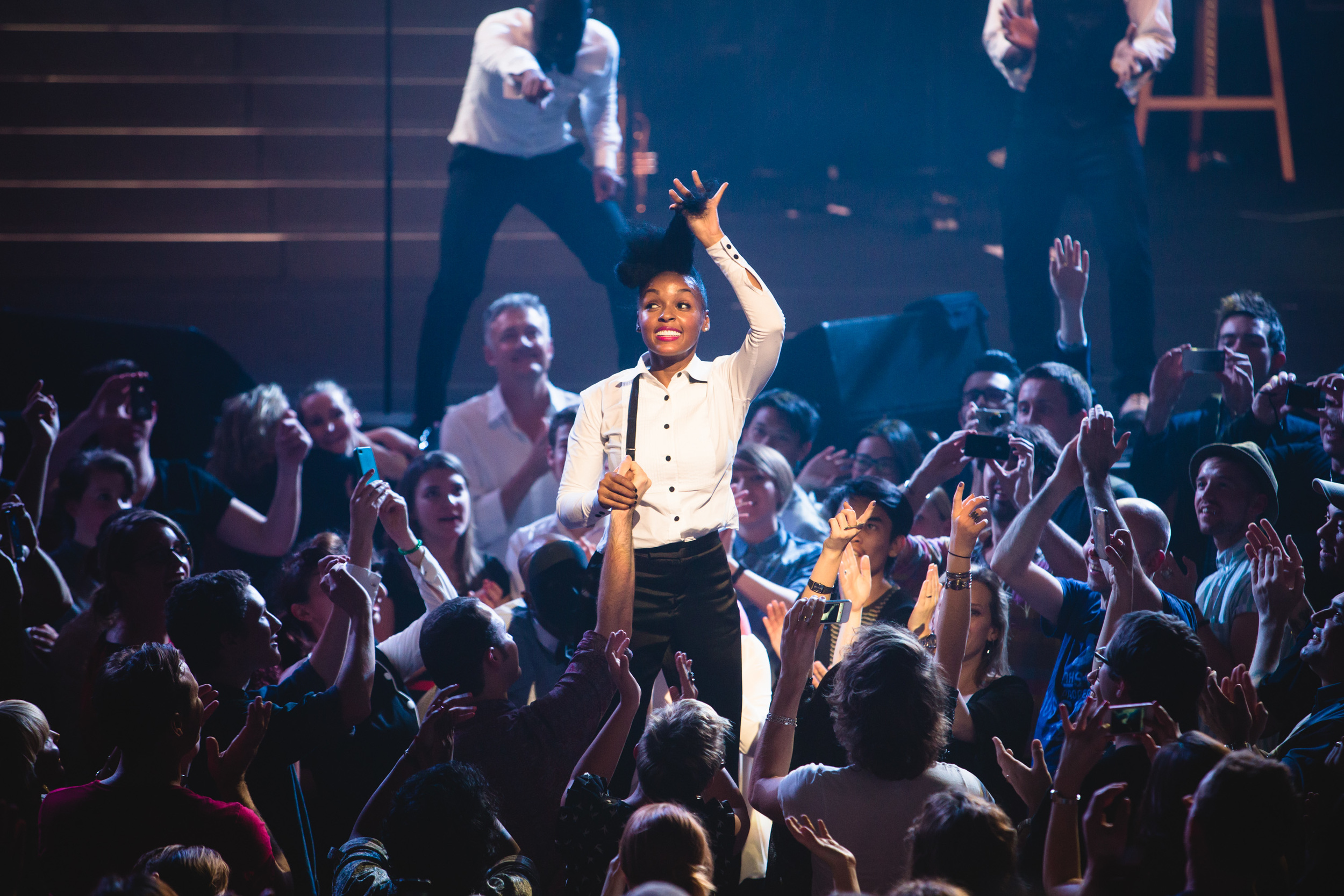 Janelle Monae at Sydney Opera House