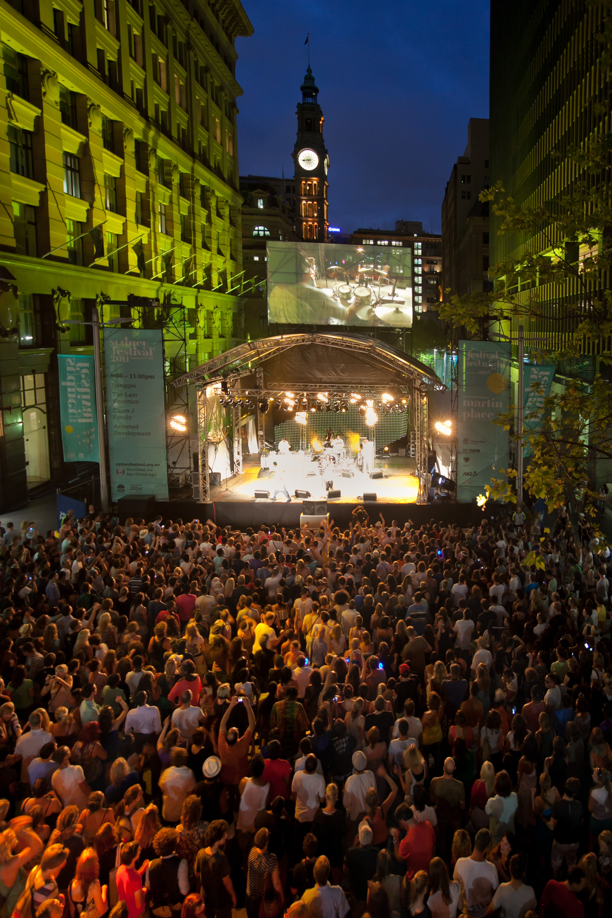 Sydney Festival First Night