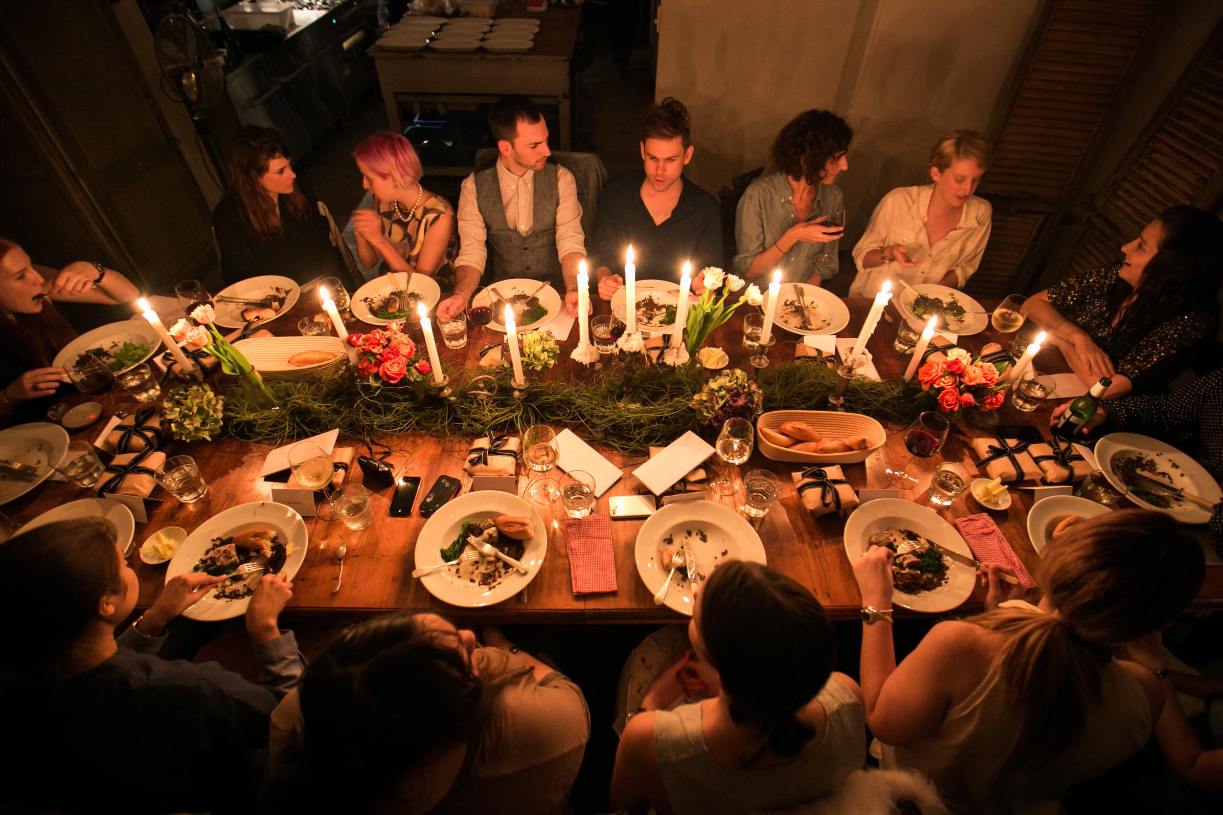 Flannel Presentation Dinner