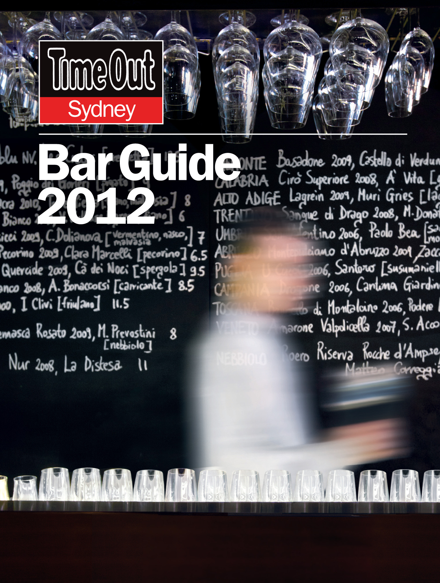 Time Out Bar Guide 2012