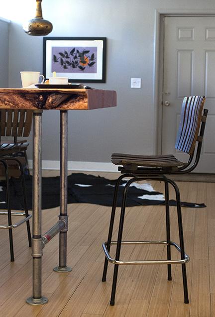 The offending bar stool