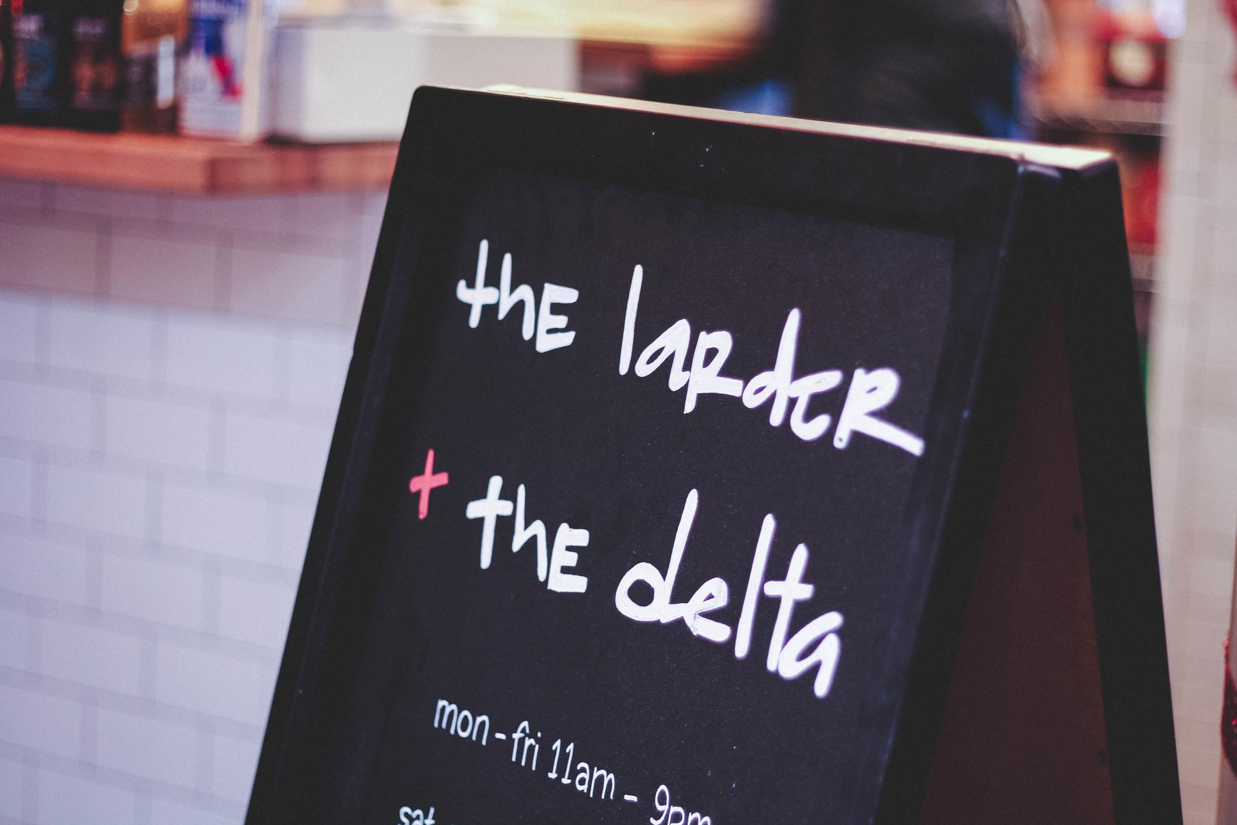 the larder + the delta