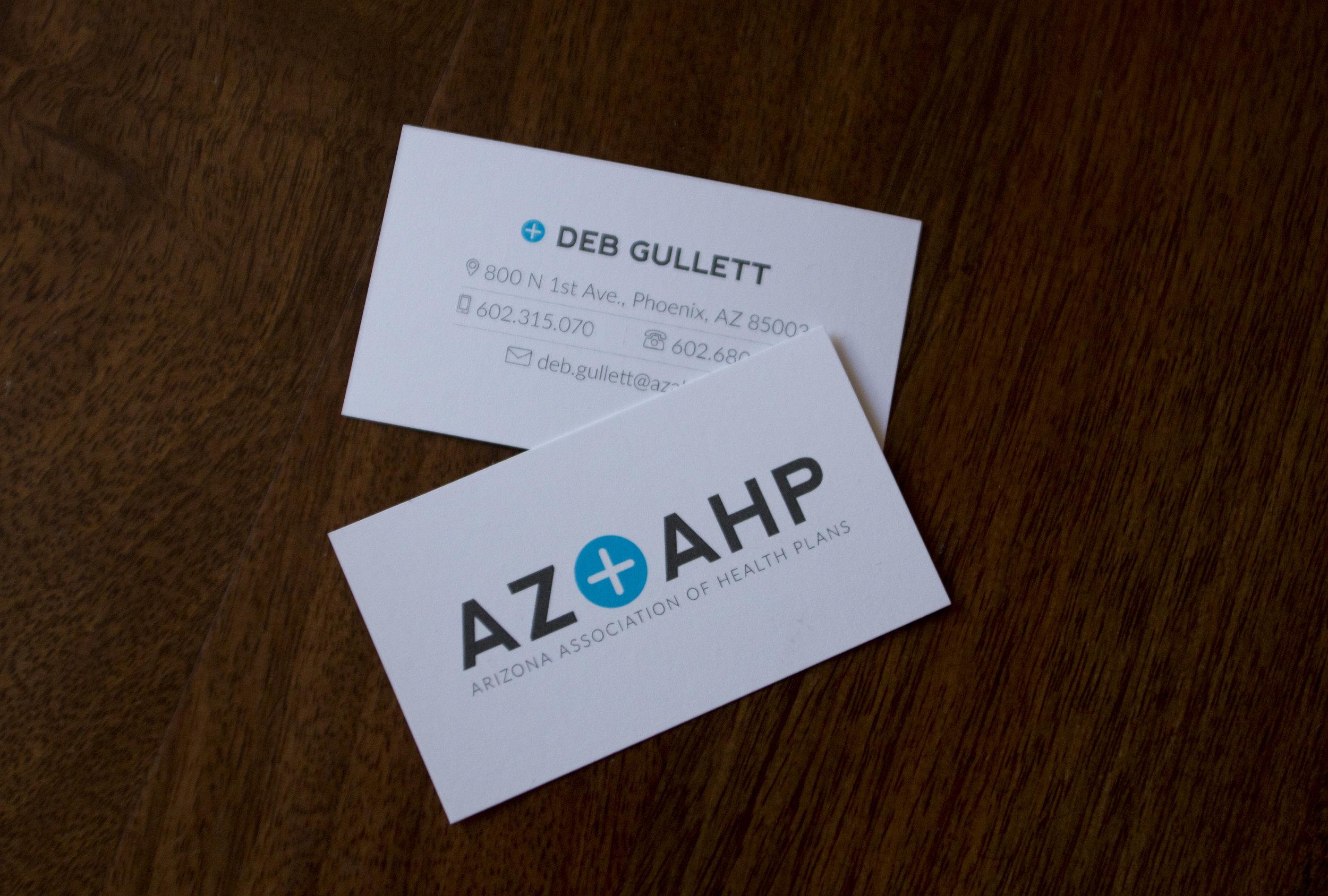 AZAHP business cards