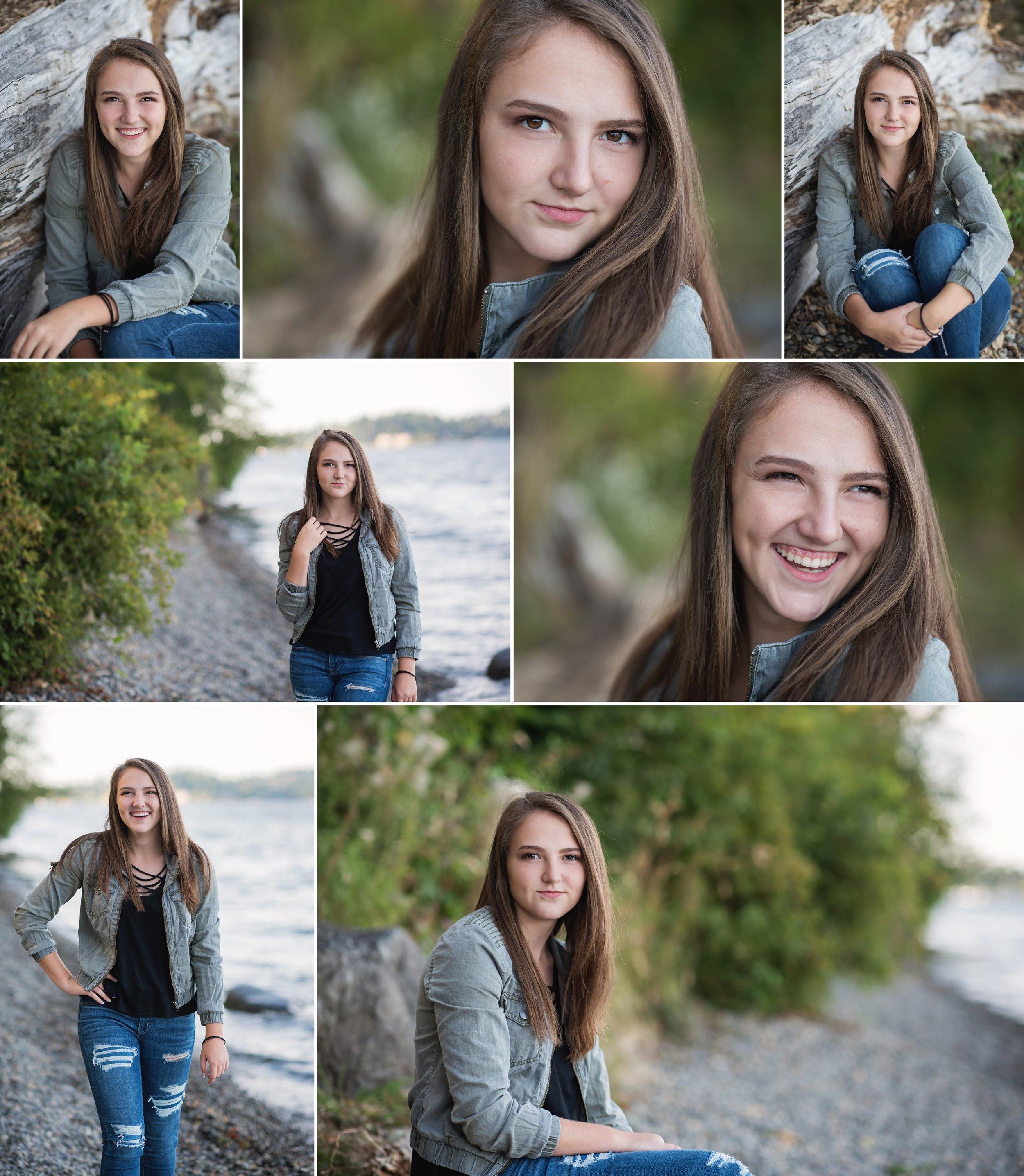 Mary Vance Photography Senior Girl Sammamish Washington, Luther Burbank Park Mercer Island