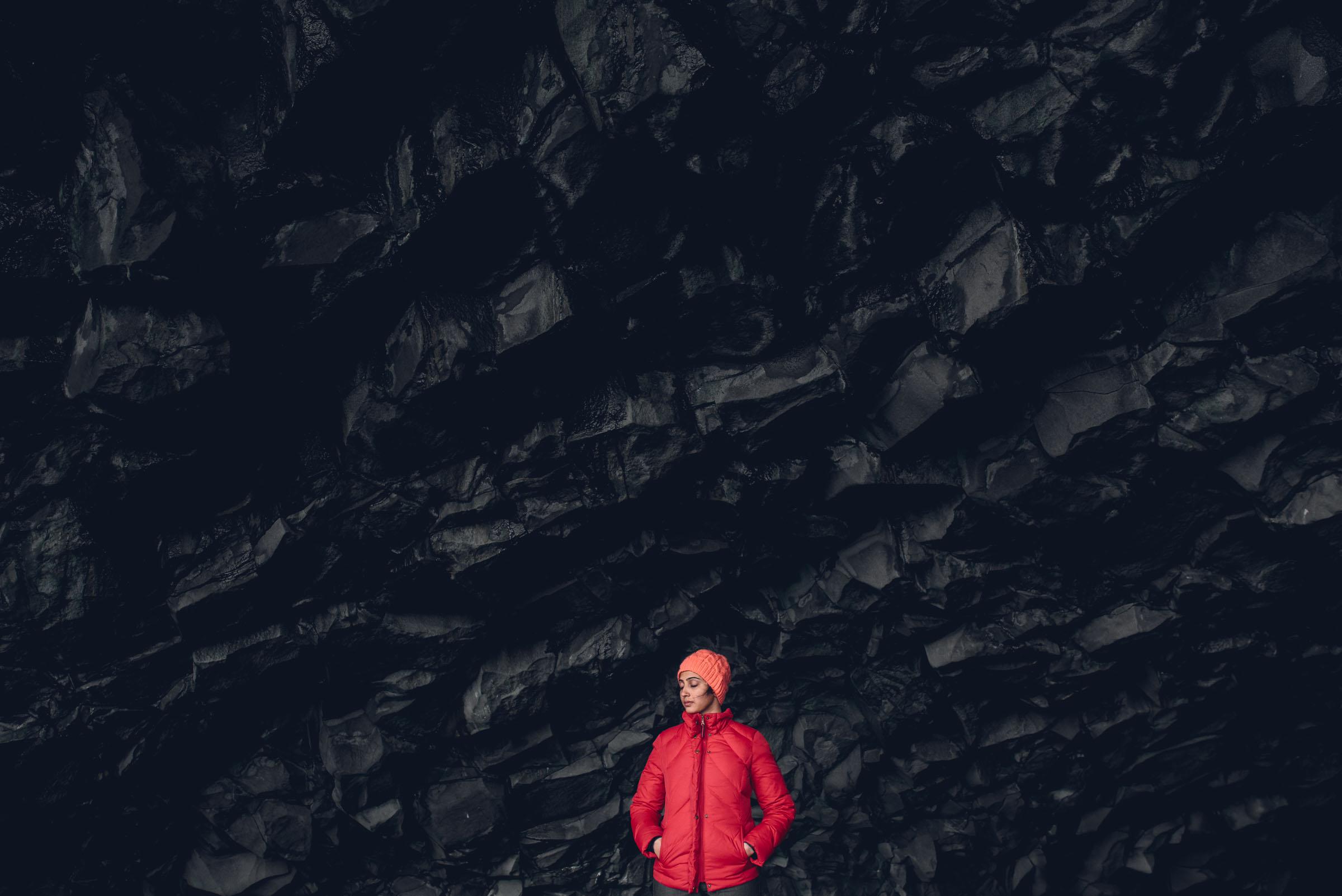 Near Black Sand Beach. Vik, Iceland. Photography in Iceland