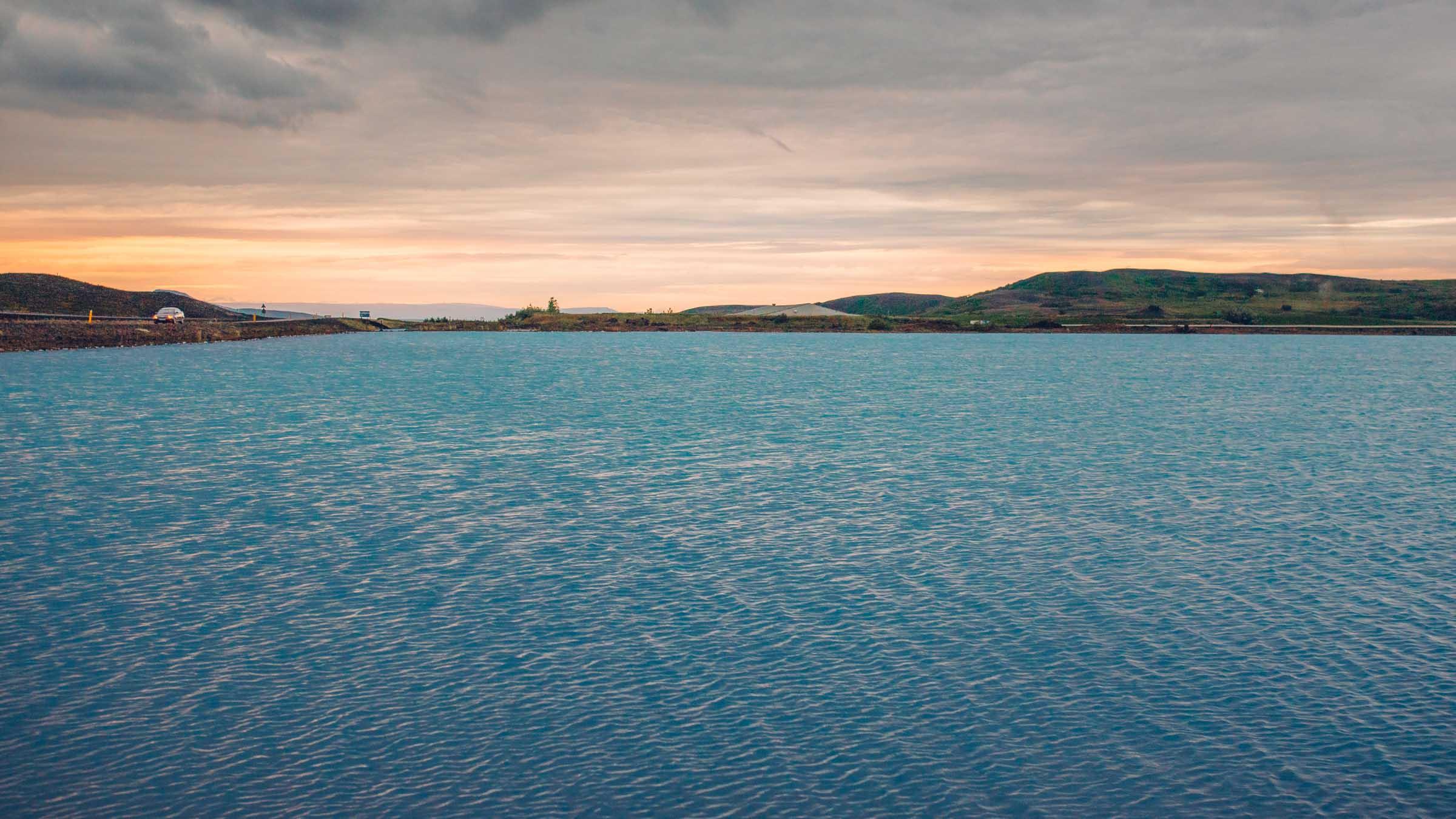 Blue Lake, Myvatn