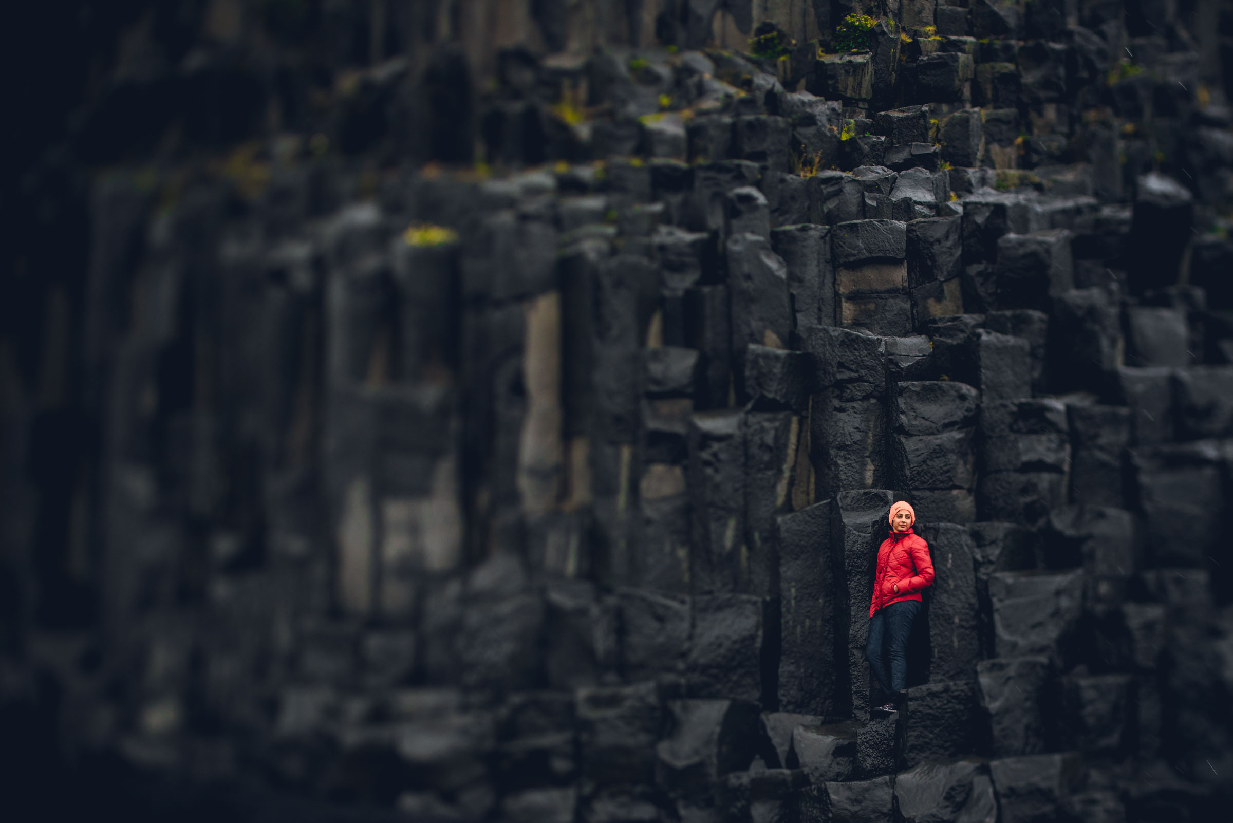 Basalt Columns Iceland