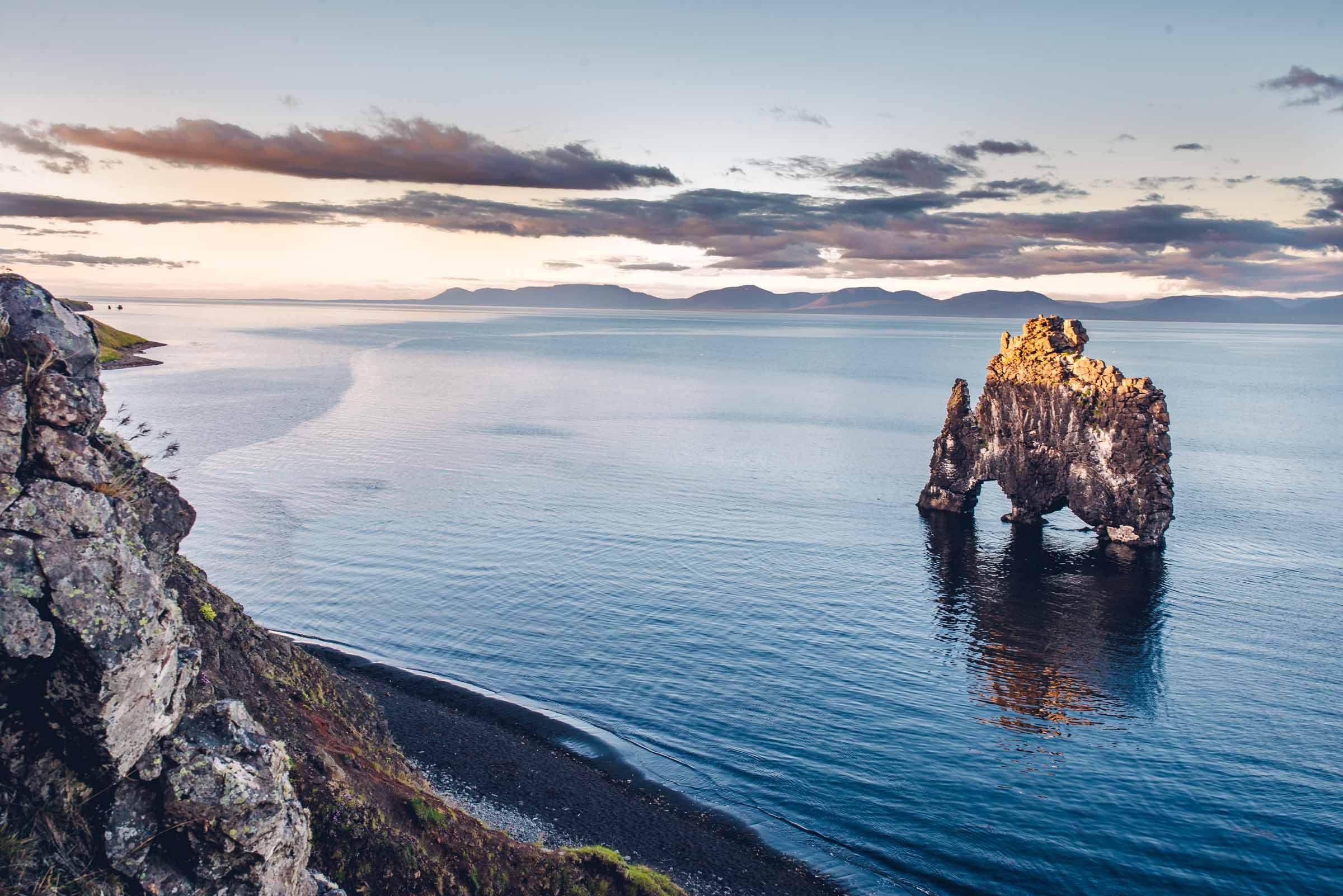 Hvítserkur Rock Formation - The Troll of North-West Iceland
