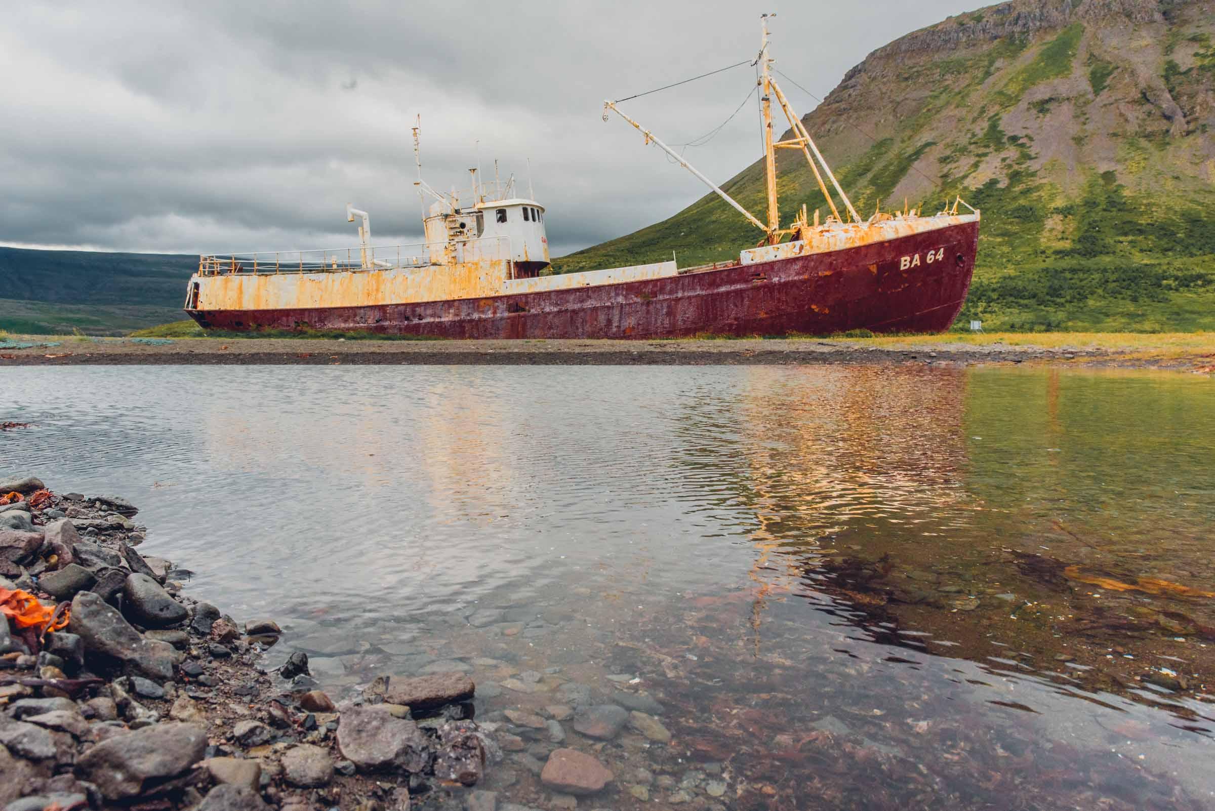 Garðar BA 64 Ship Wreck, ICeland