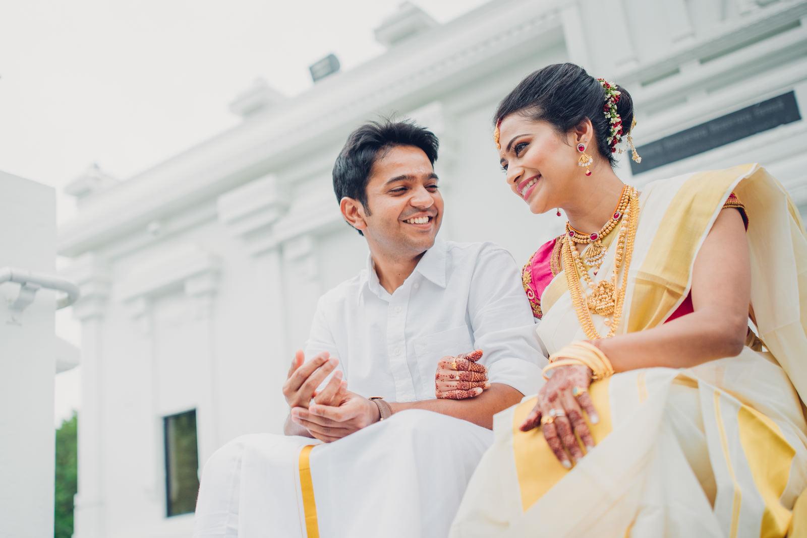 Parvaty + Sahil   Malayalee Wedding in Maryland, USA — One