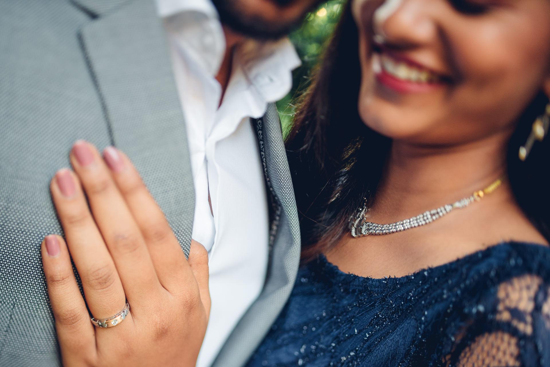 Editorial shoot for a wedding couple