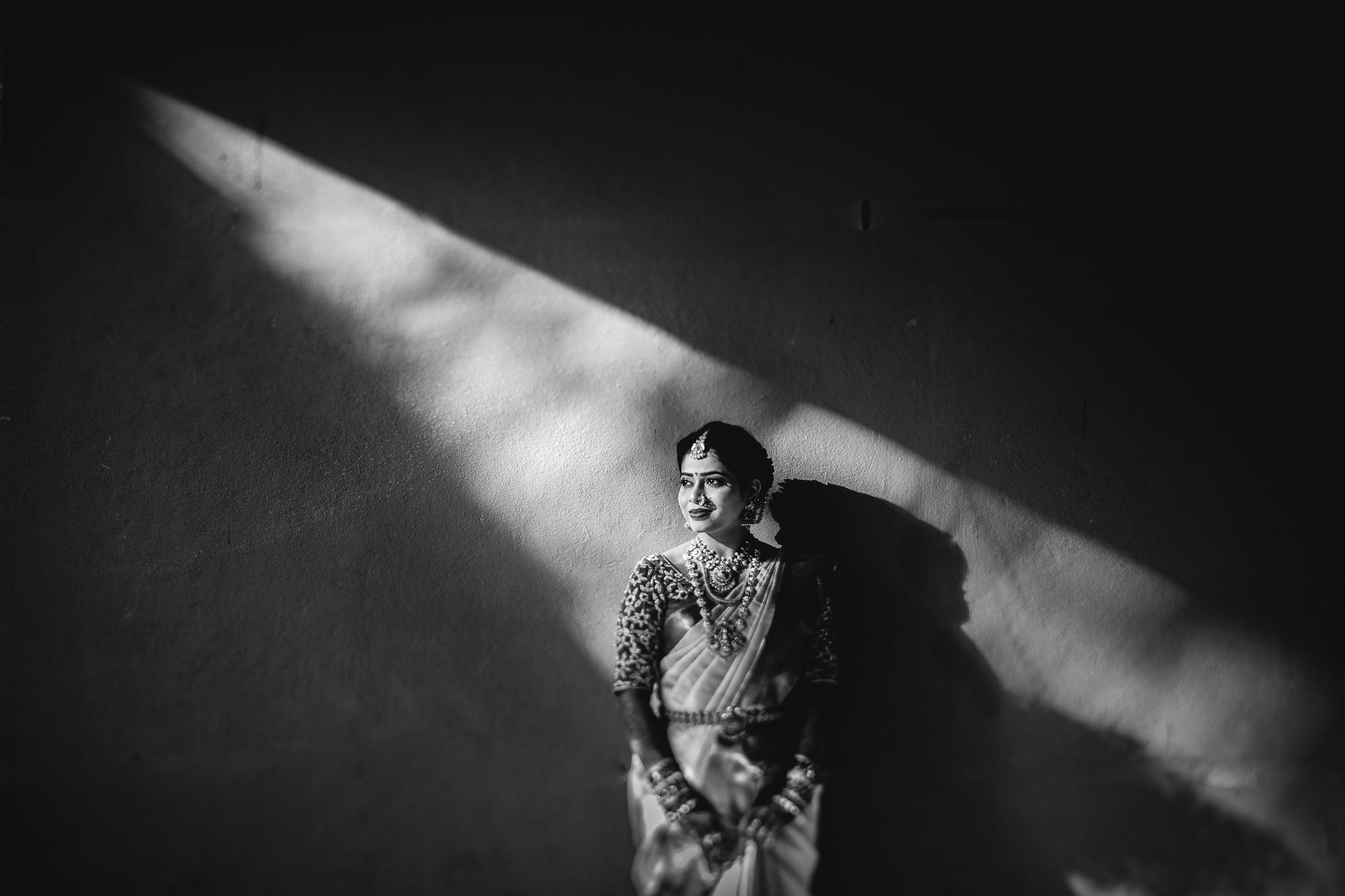 Telugu Bride on her wedding day
