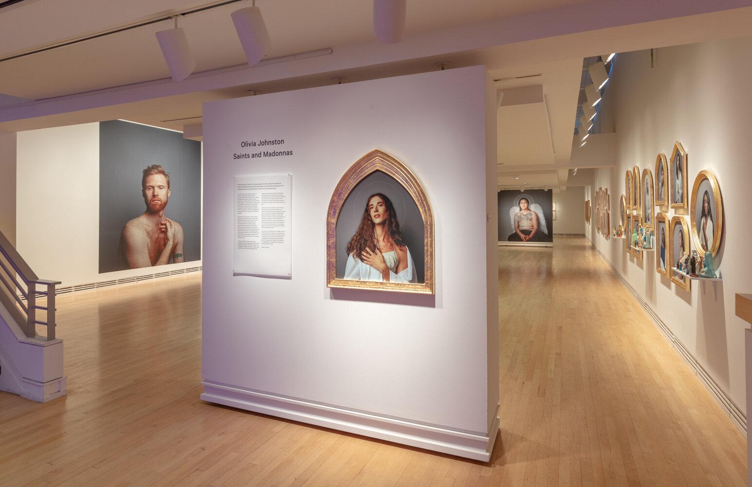 Olivia Johnston Saints and Madonnas title wall.jpg
