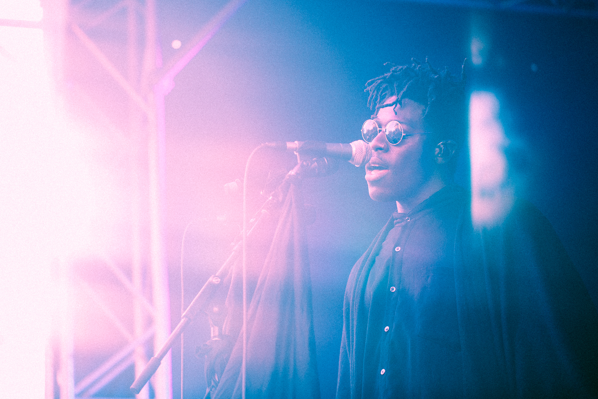 05.02.2018  Moses Sumney. Another one from yesterday at Laneway.