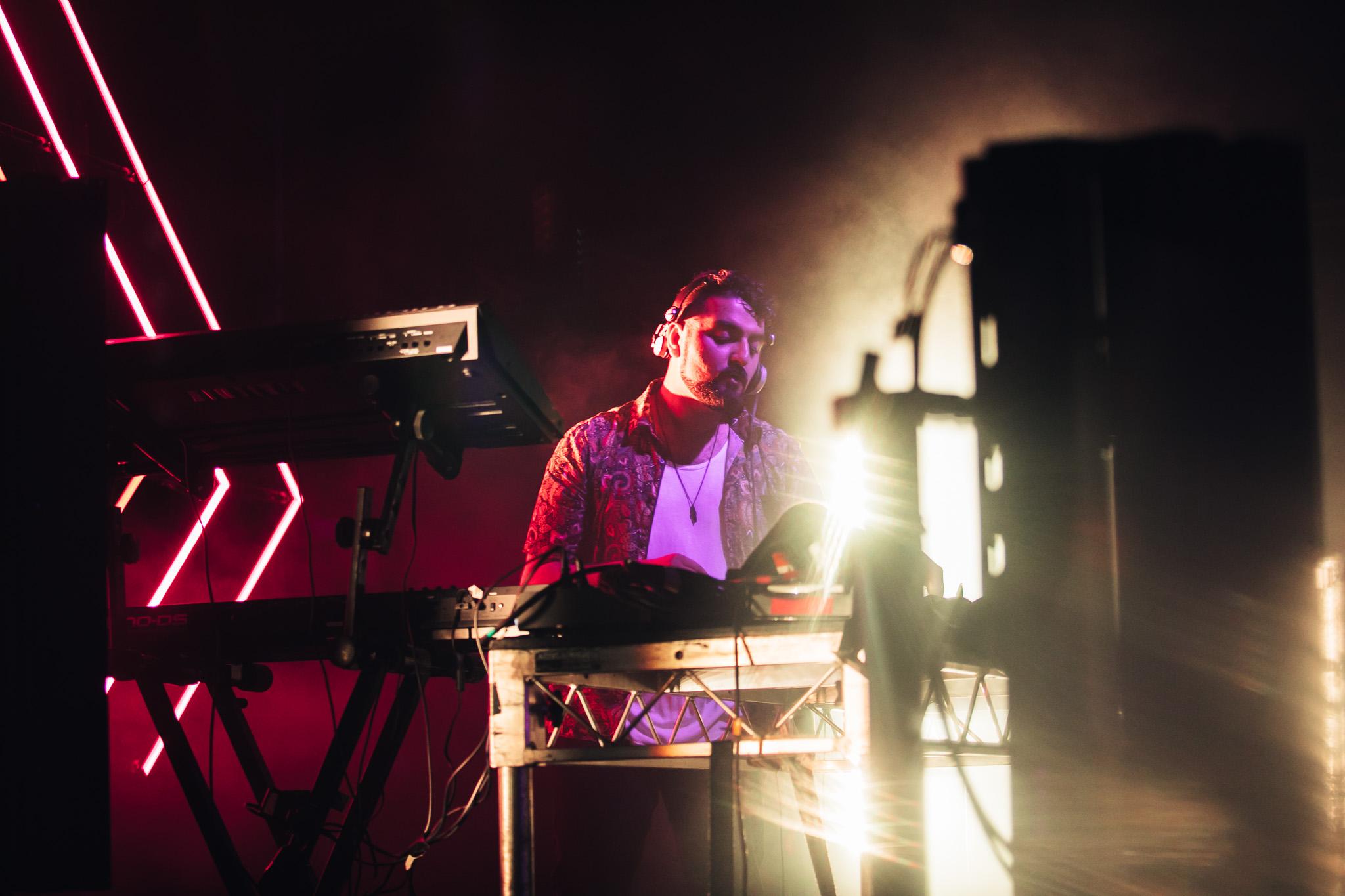 17.02.2018  Motez performing @ Mountain Sounds festival.