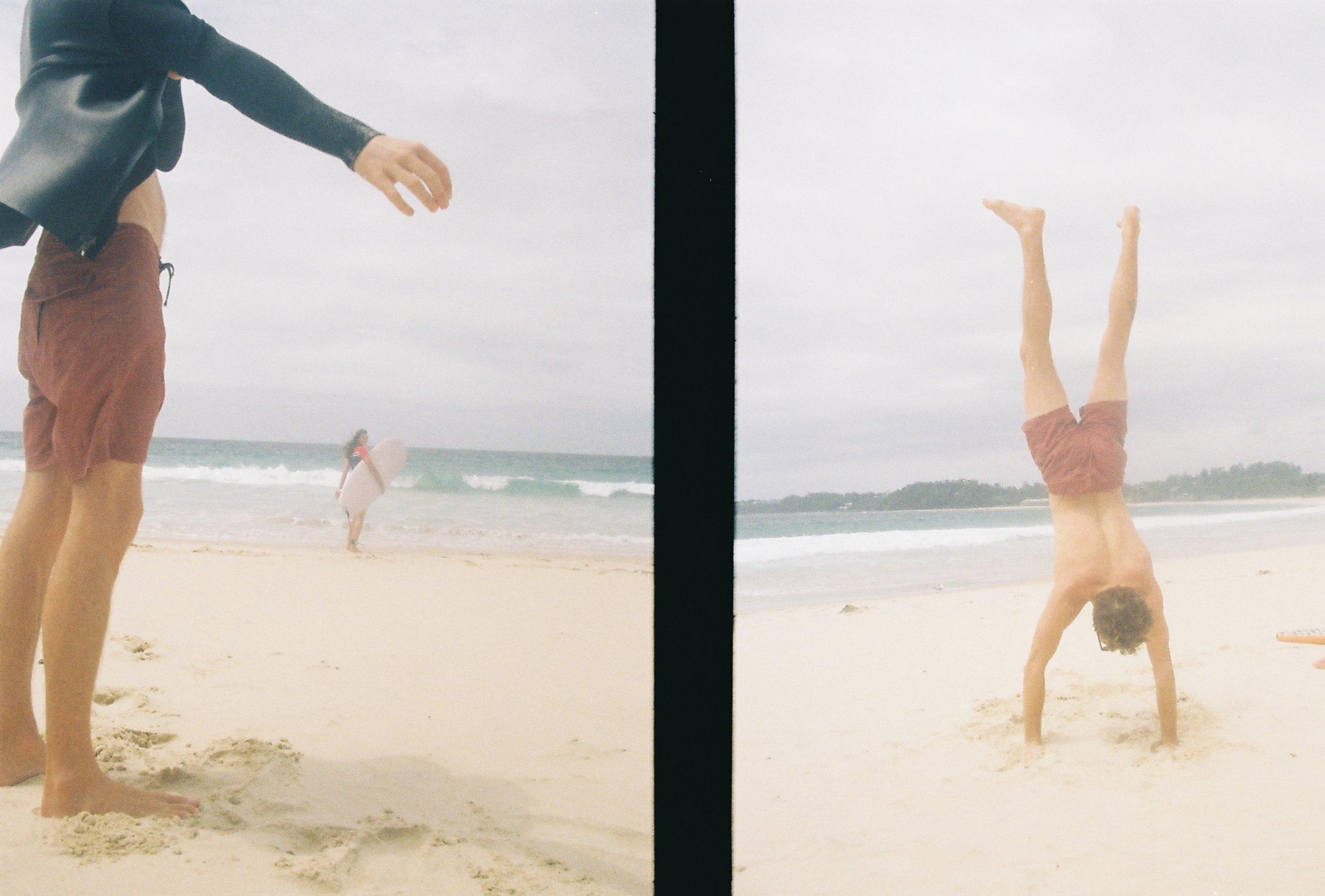 05.02.2019  Beach days with Tim & Mitz.