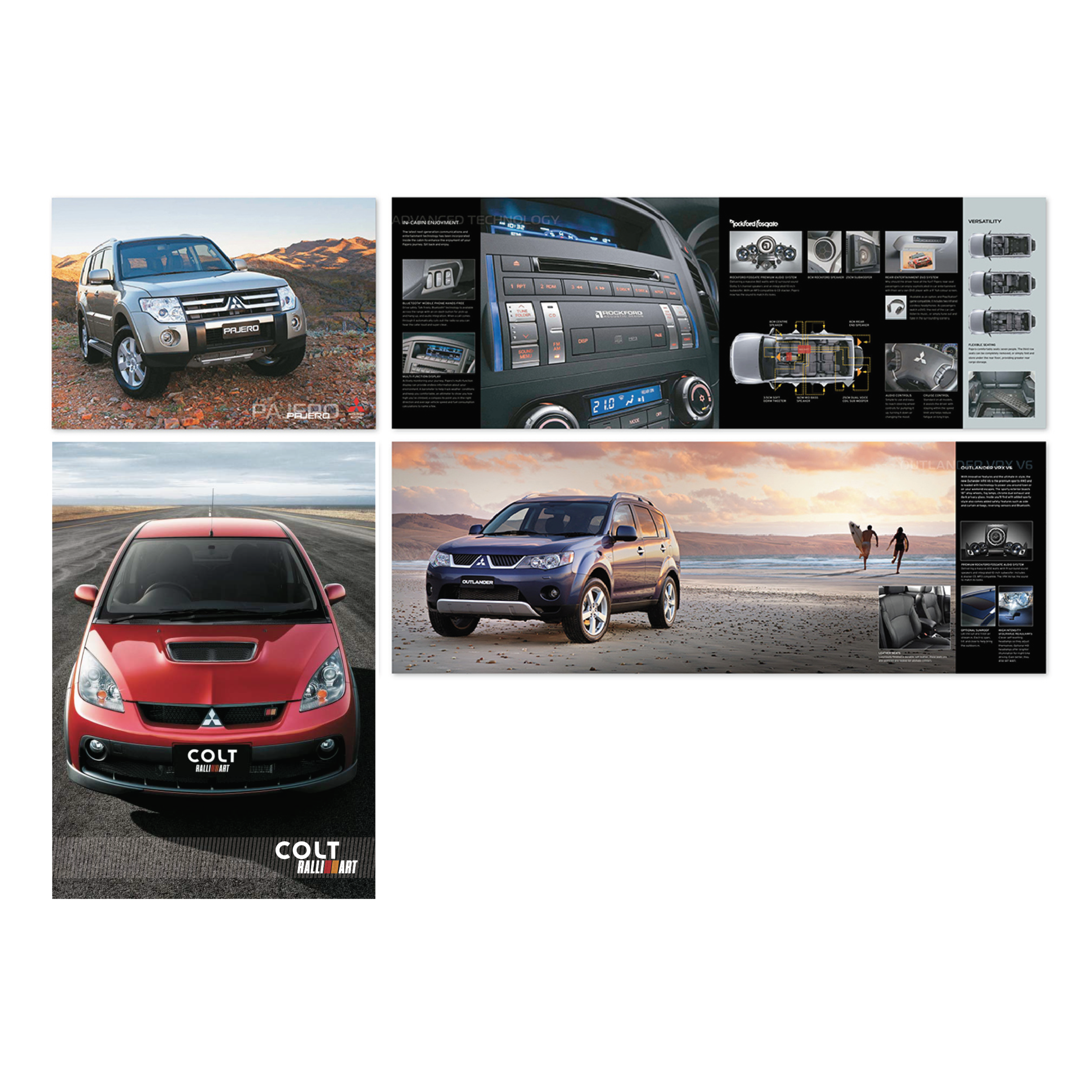 Mitsubishi Brochures