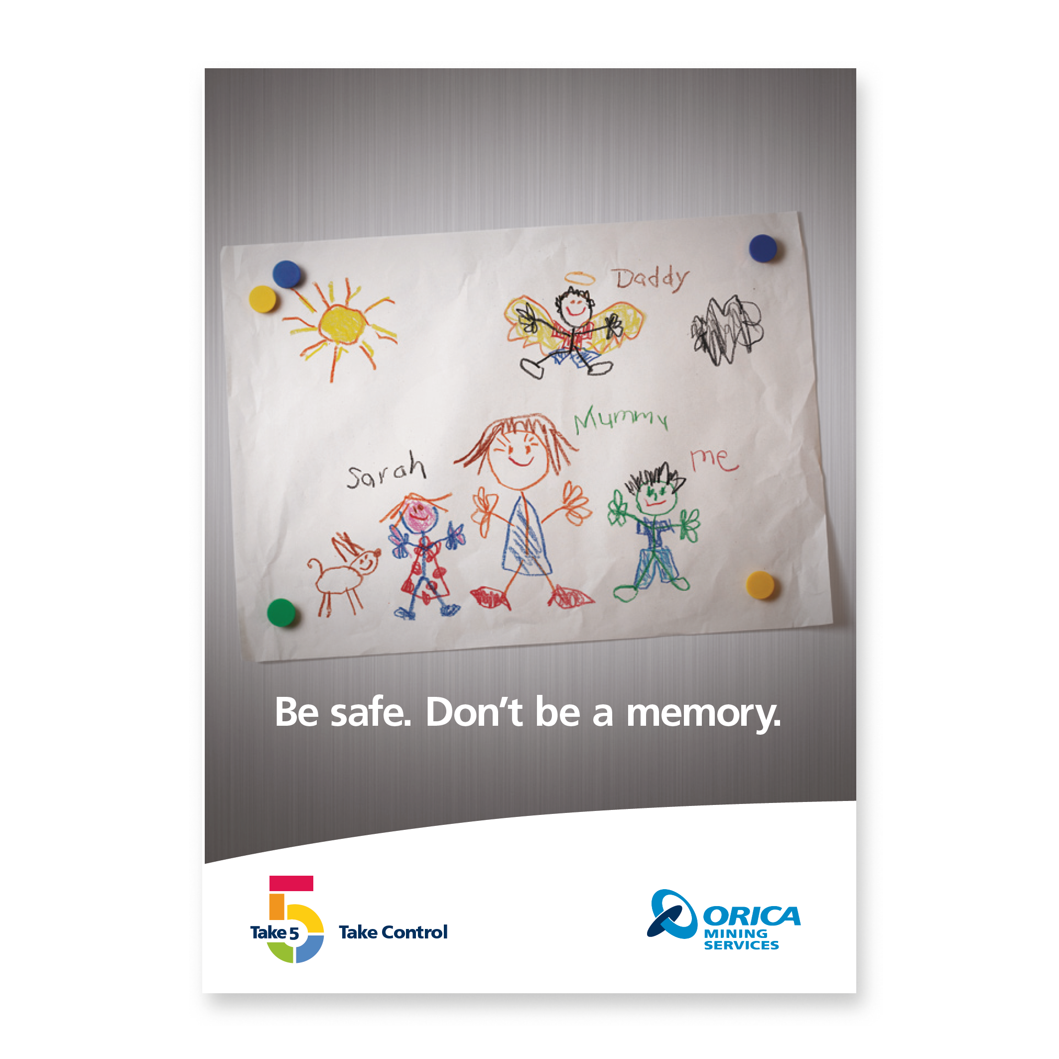 Orica Safety Poster