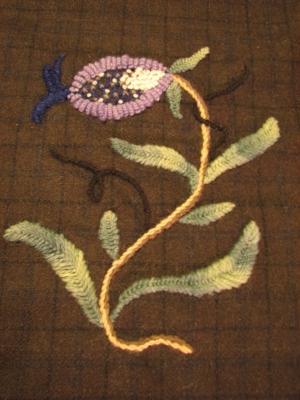 A fabric sample