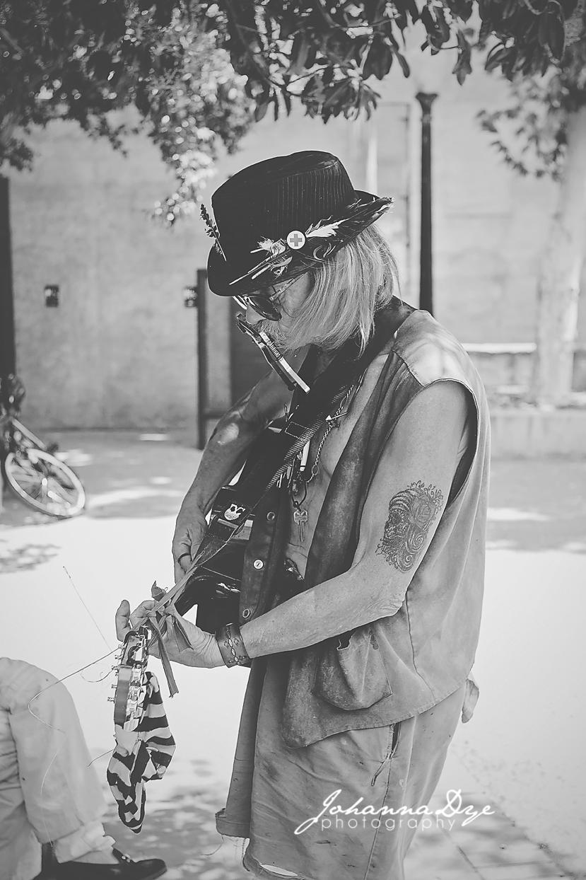 Street Musician Bisbee Arizona - Photographer in Fayetteville NC