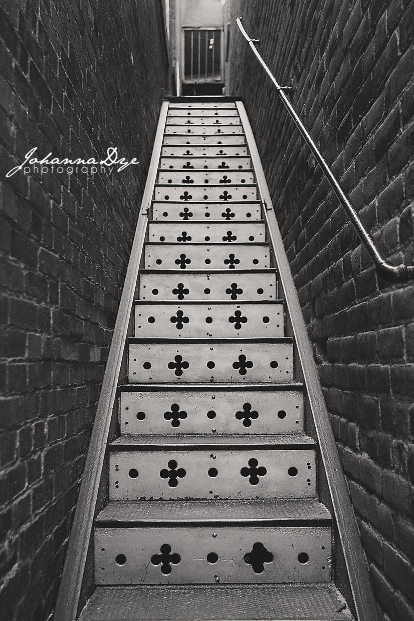 Stairway - Photography in Fayetteville, NC
