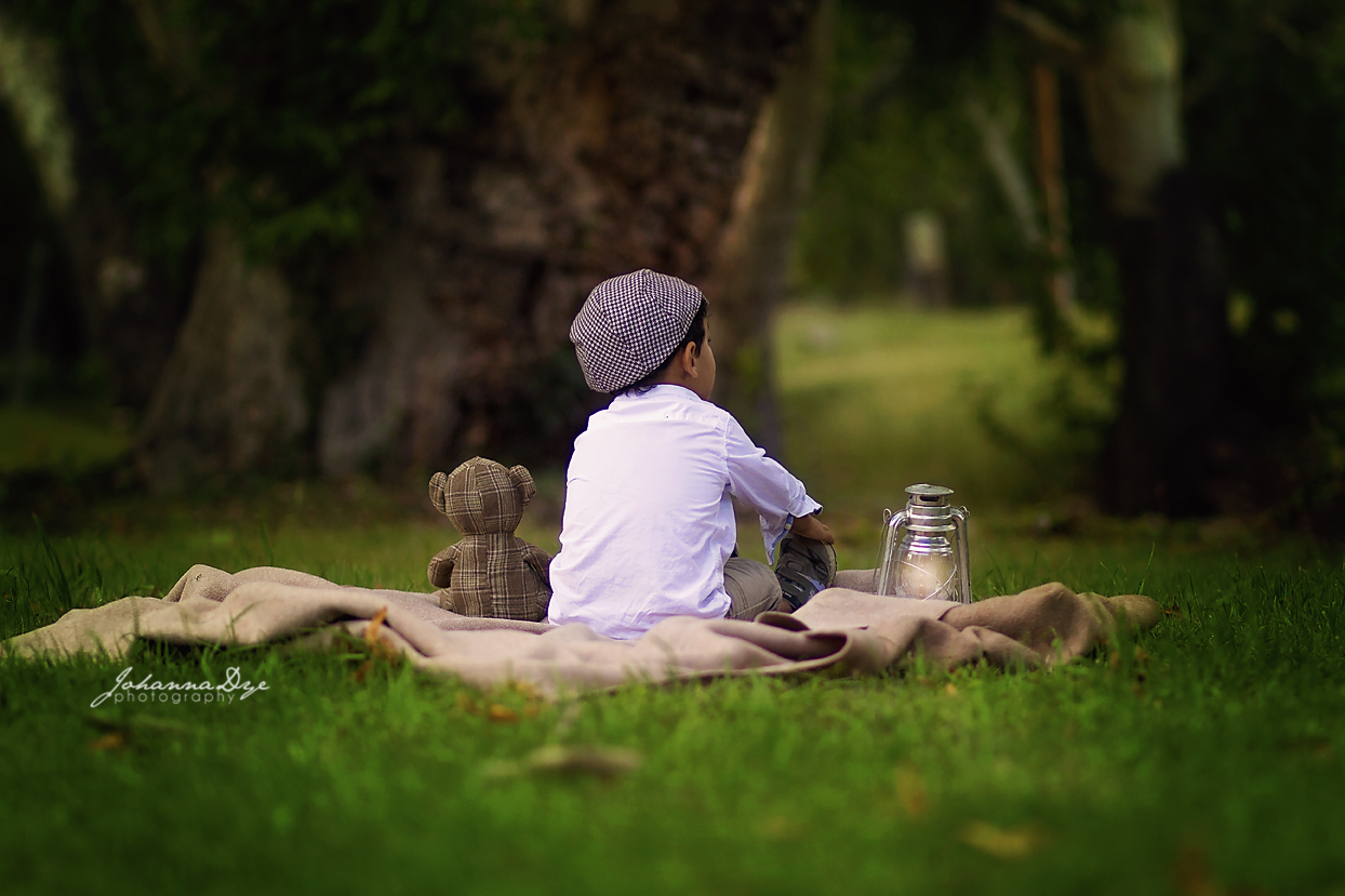 Christopher Robin, Storytime Children Photography in Fayetteville, North Carolina