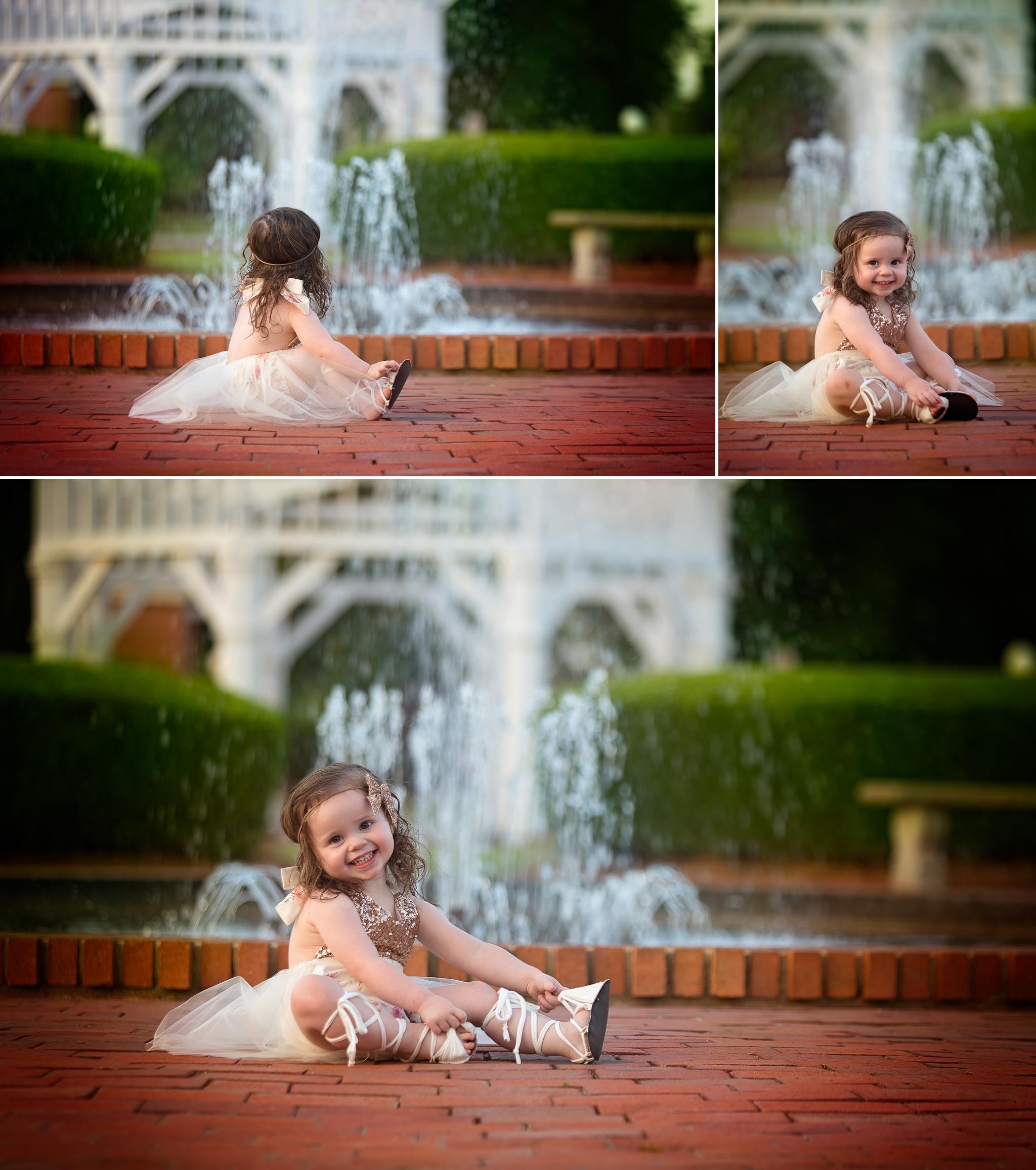 Fayetteville North Carolina Rose Garden Photographer Children