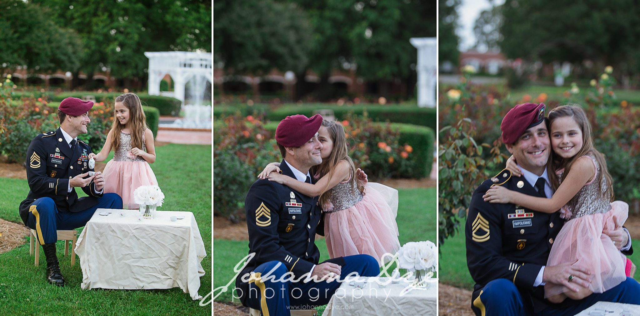 FTCC Rose Garden Military Photography