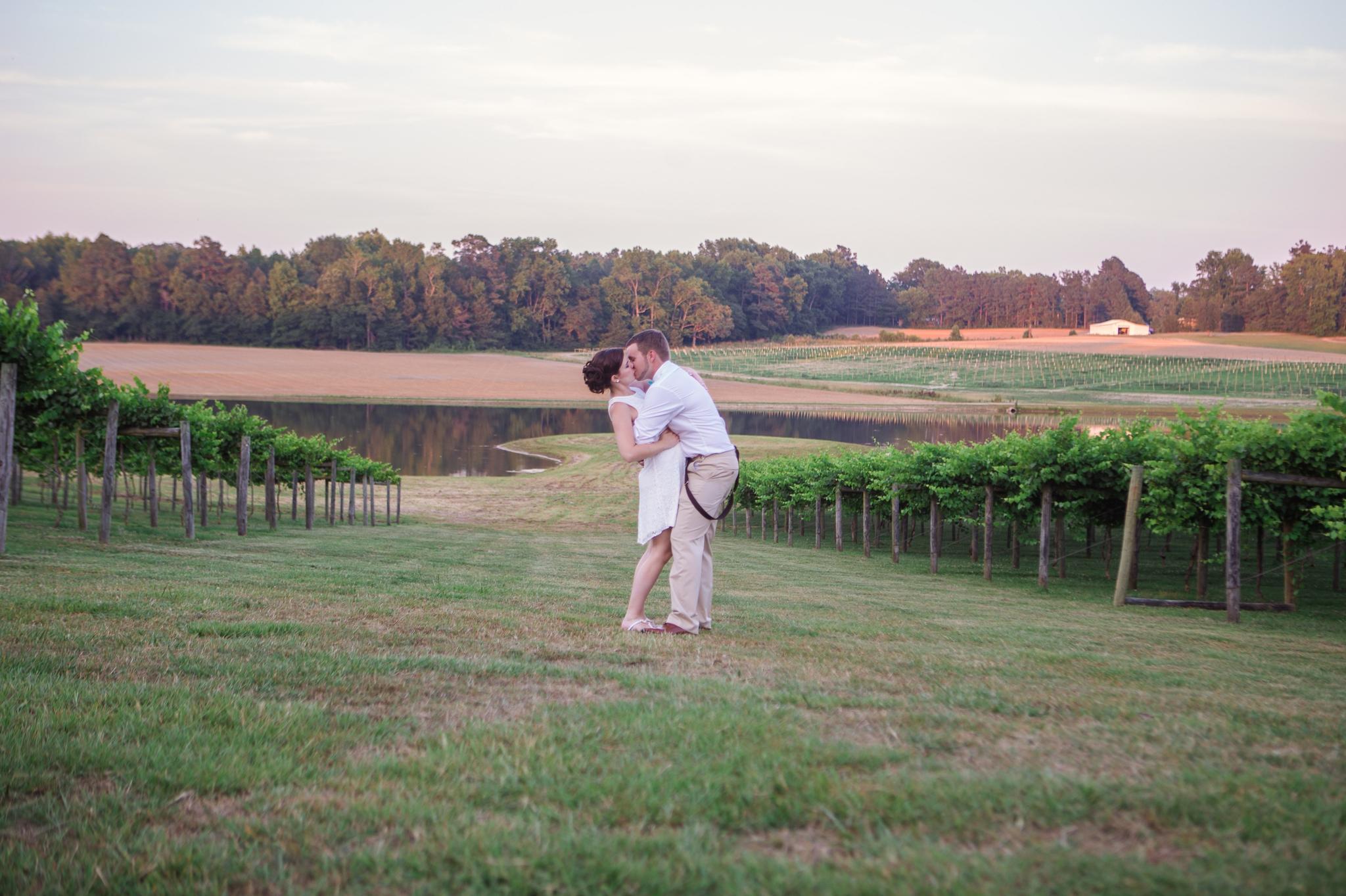 Gregory Vineyard Wedding Photographer in Fayetteville, North Carolina