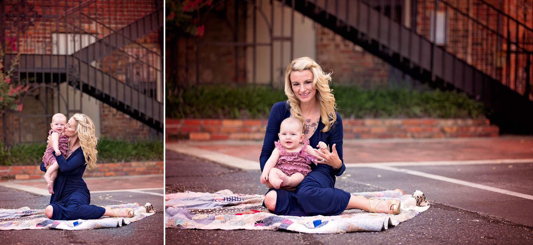 Family Photography in Downtown Fayetteville, North Carolina