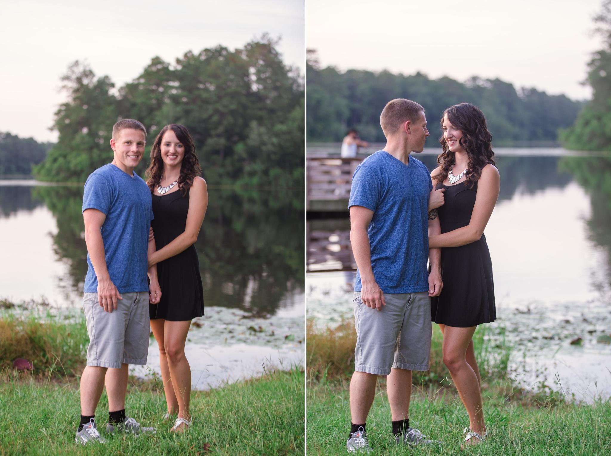 Anniversary Photography at Lake Rim, Fayetteville North Carolina