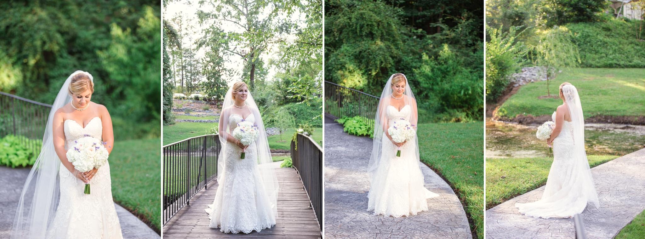 Wedding Photography at Vizcaya Villa in Fayetteville North Carolina
