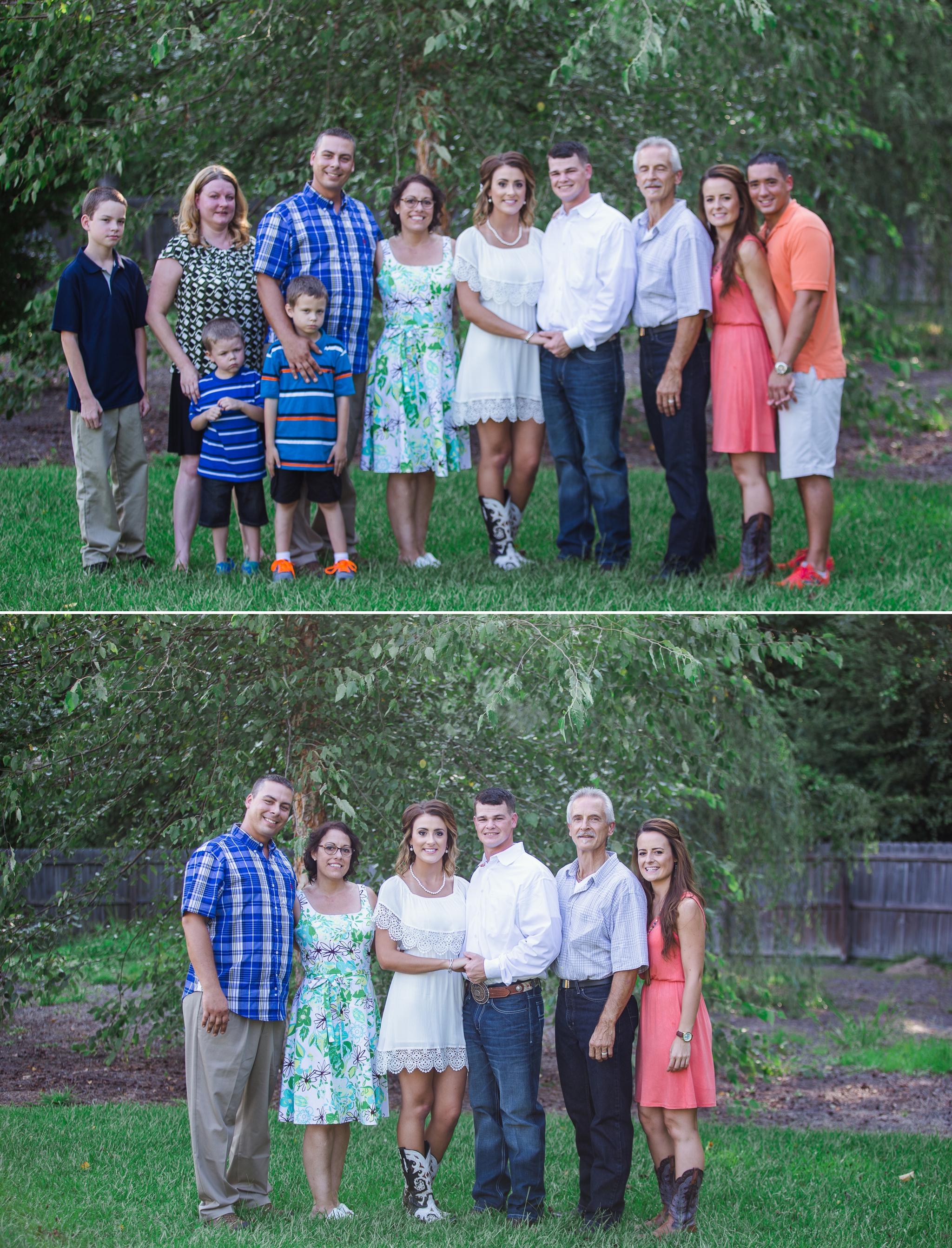 Southern Country Backyard Elopement - Fayetteville North Carolina Wedding Photographer - Johanna Dye Photography