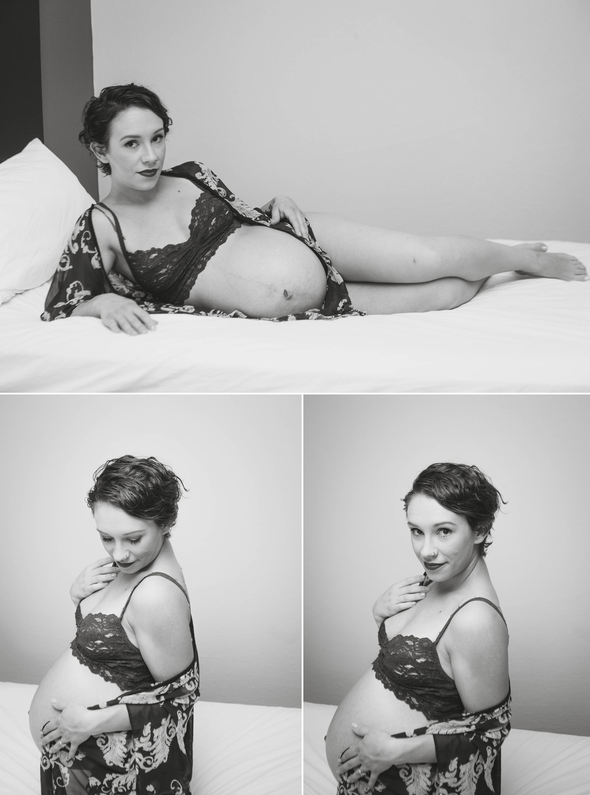 Maternity Boudoir Photography in Fayetteville, North Carolina