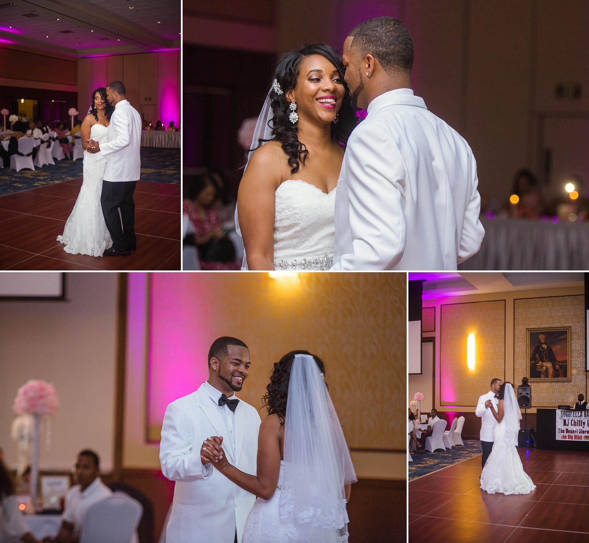 Wedding reception at fort bragg conference & catering center north carolina