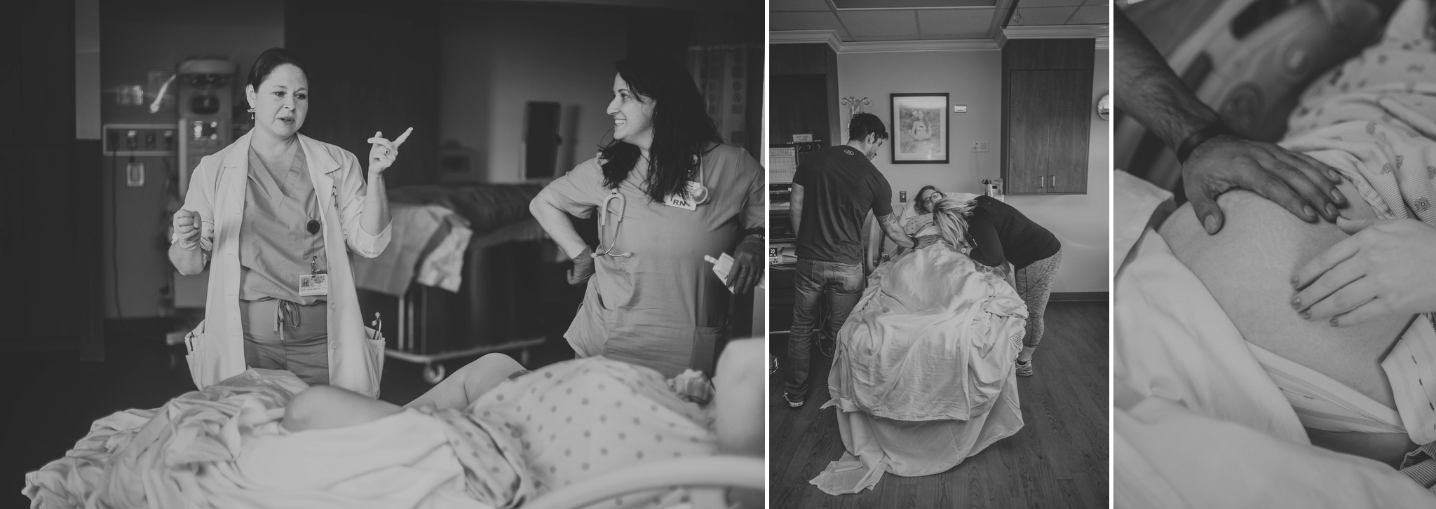 Fayetteville North Carolina Birth Photography at Cape Fear Valley Hospital