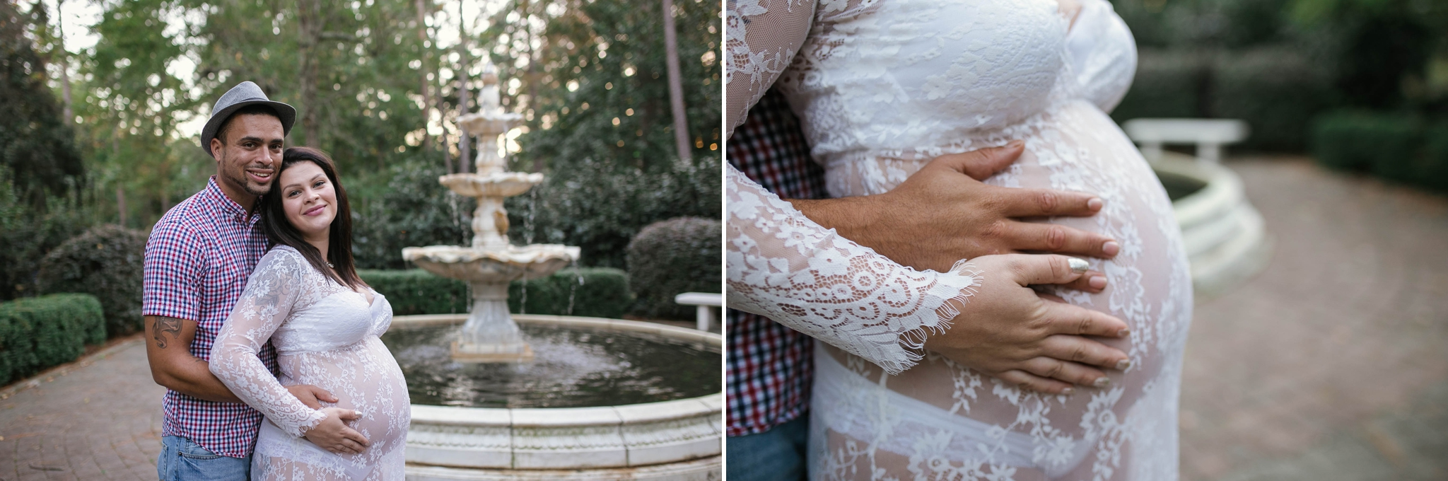 Maternity Session at the Weymouth Center in Southern Pines, NC