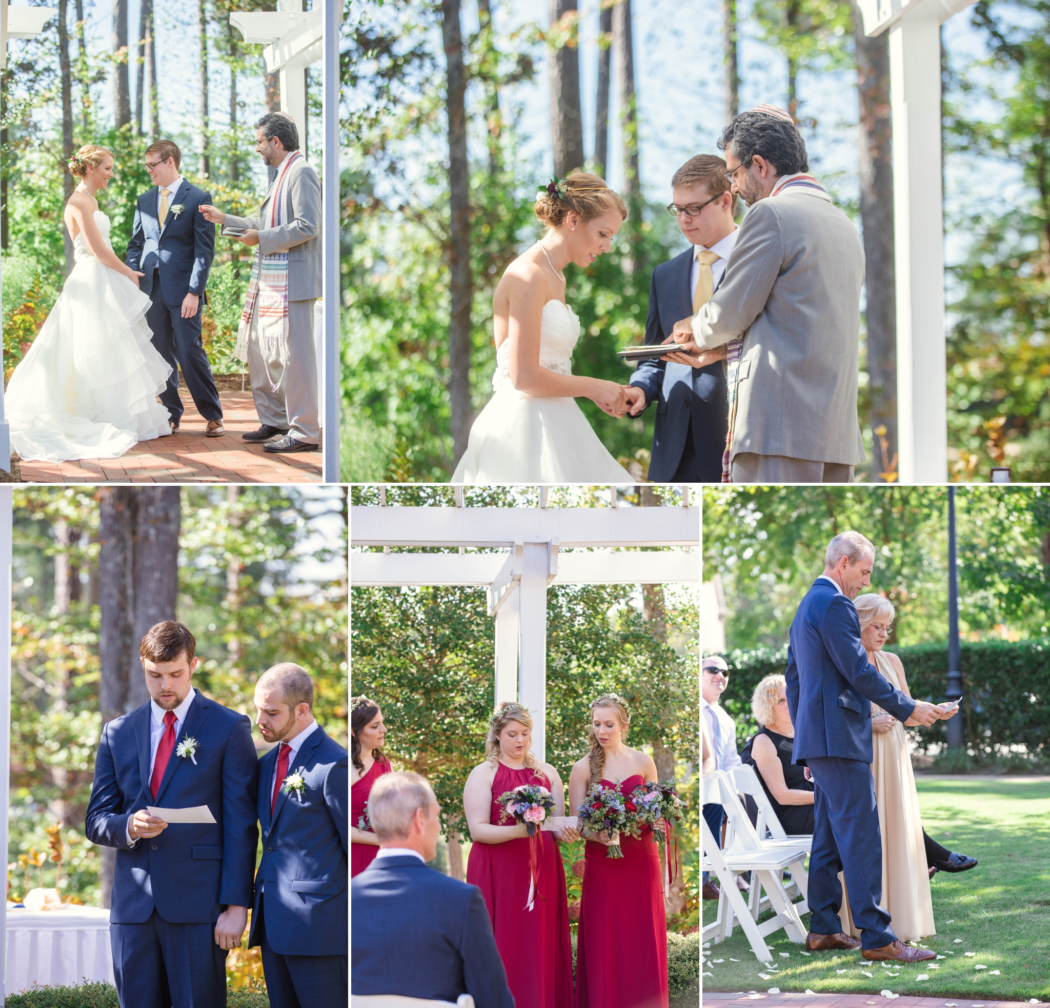 Wedding Photographer at Brier Creek Country Club in Raleigh North Carolina