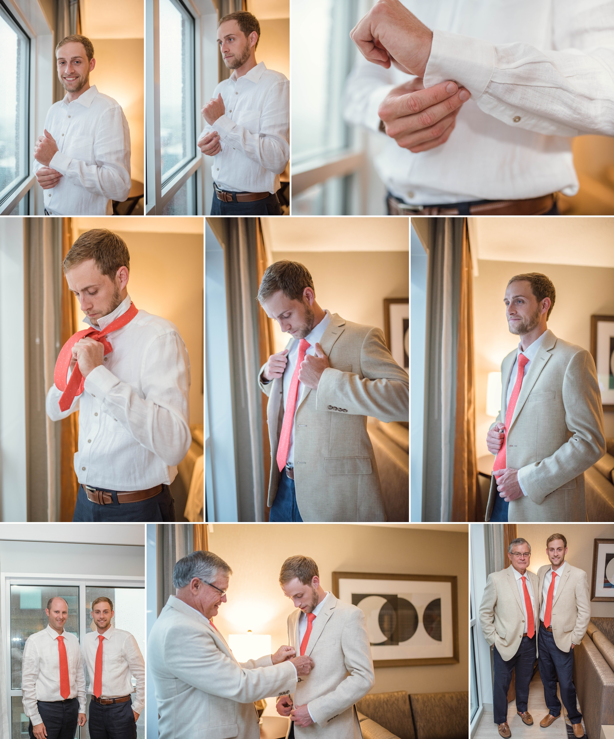 Wedding at the Sheraton Hotel in Downtown Raleigh North carolina