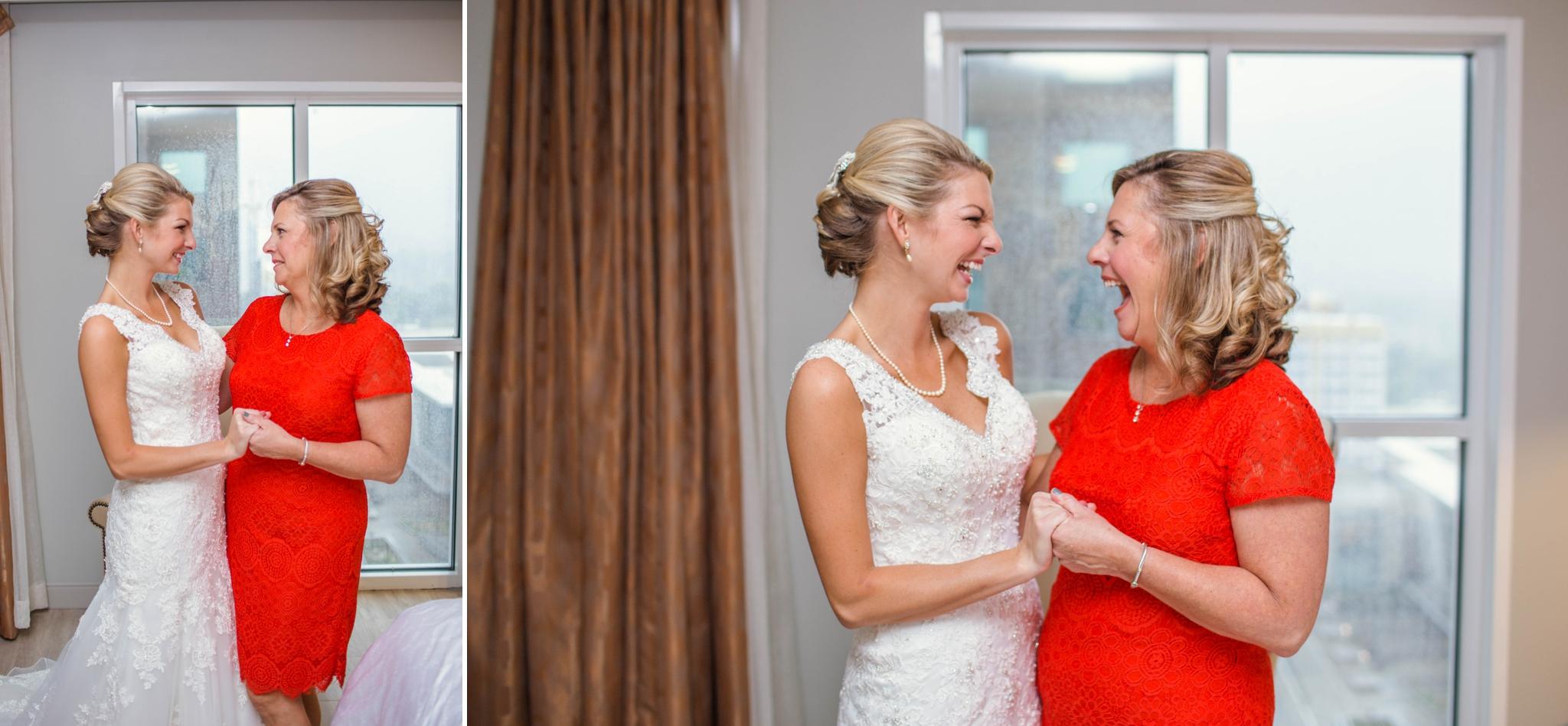Raleigh North Carolina Wedding Photographer at the Downtown Sheraton Hotel