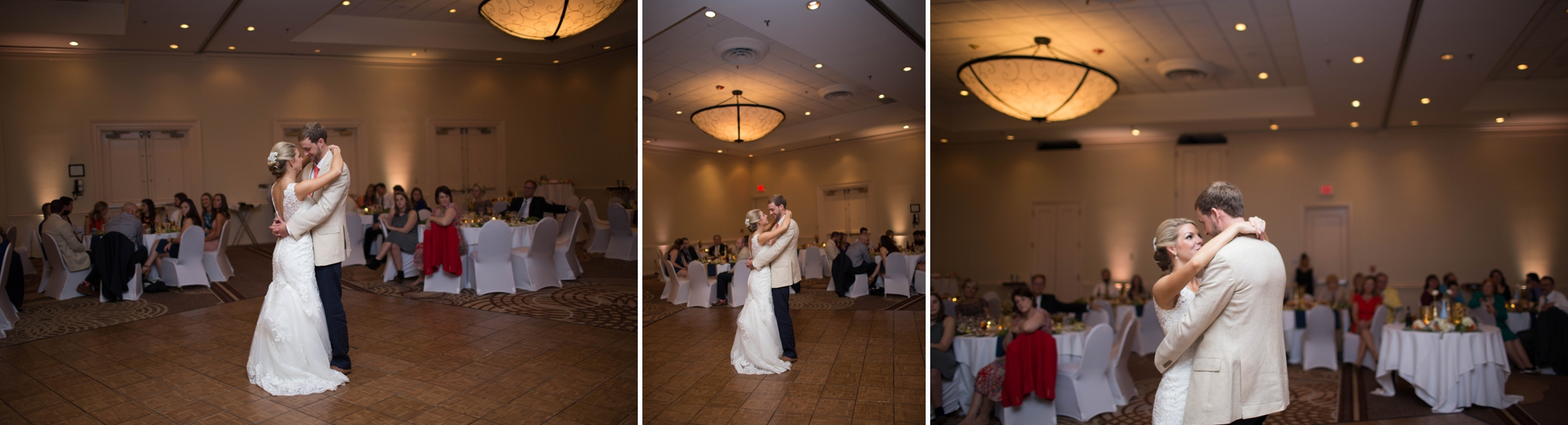 Downtown Raleigh Sheraton Hotel Wedding