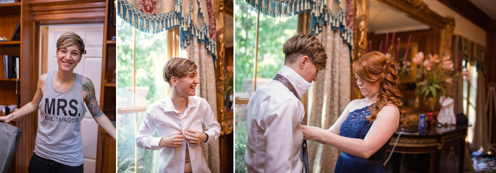 Same Sex Wedding Photography in Raleigh, North Carolina