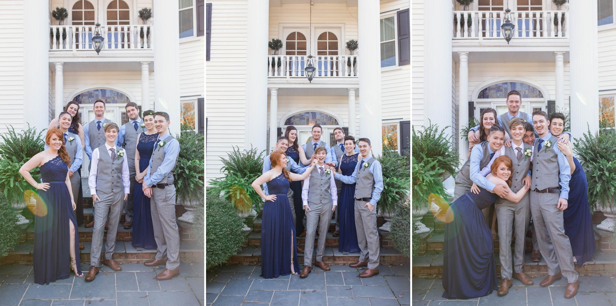 Lesbian Wedding in Cary North Carolina