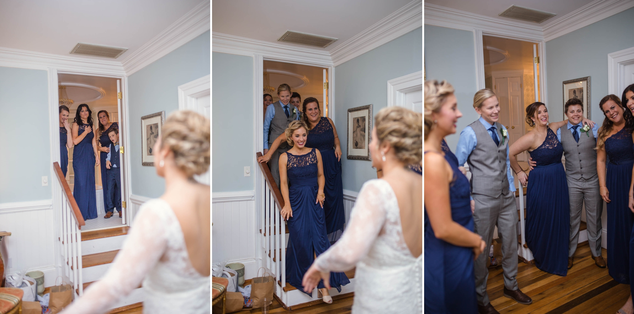 Lesbian Wedding at the Mathews House in Cary North Carolina