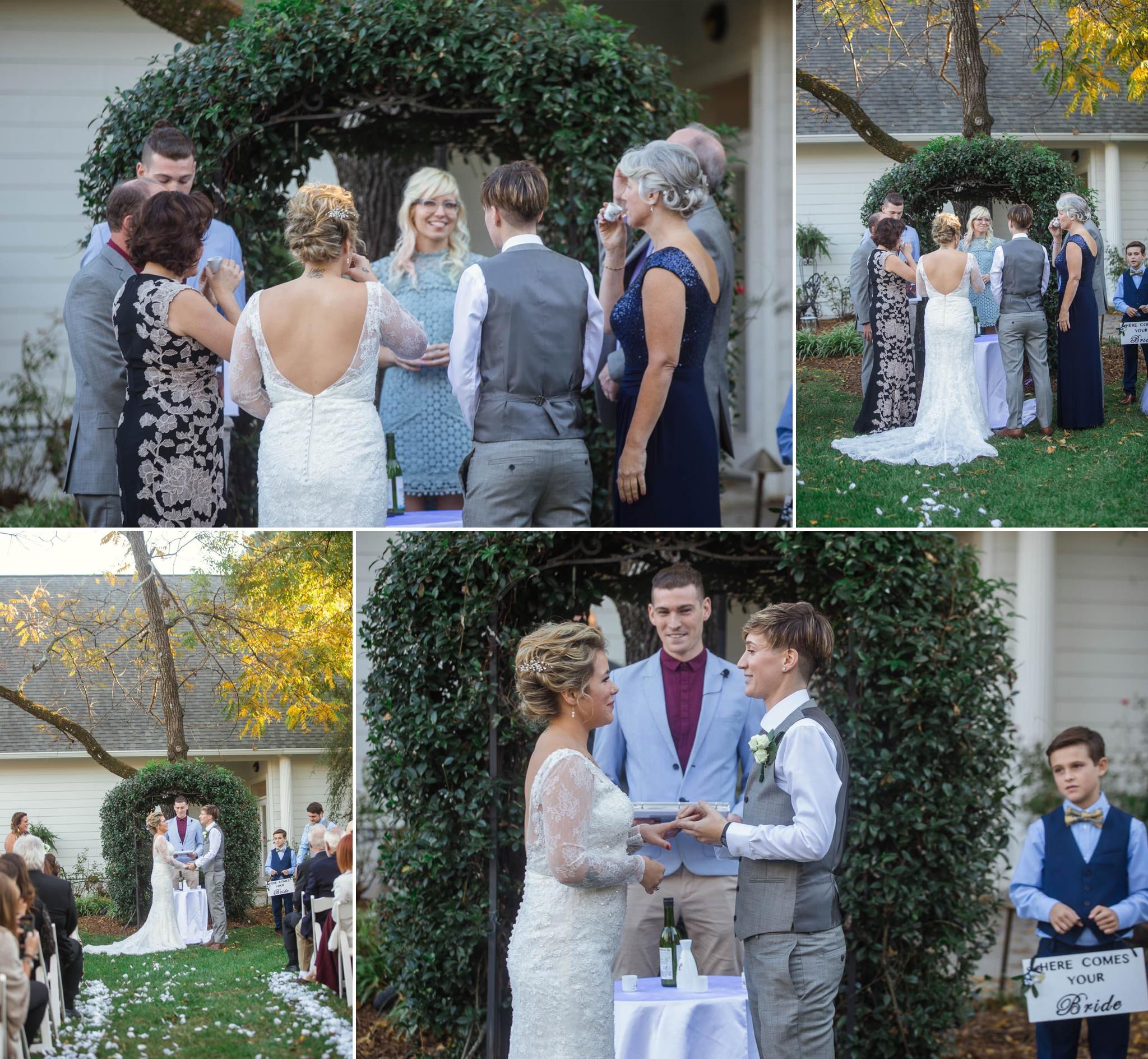 Gay Wedding Photography in North Carolina