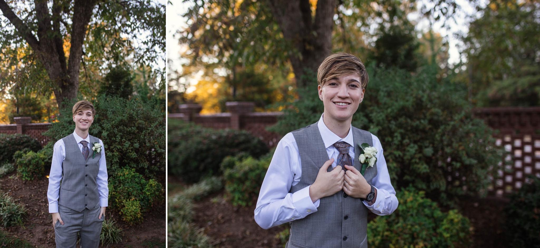 Lesbian Wedding in Raleigh NC