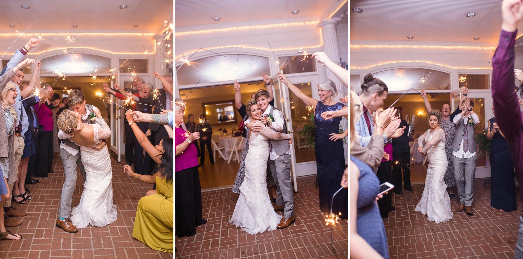 Wedding at the Matthews House in Cary North Carolina