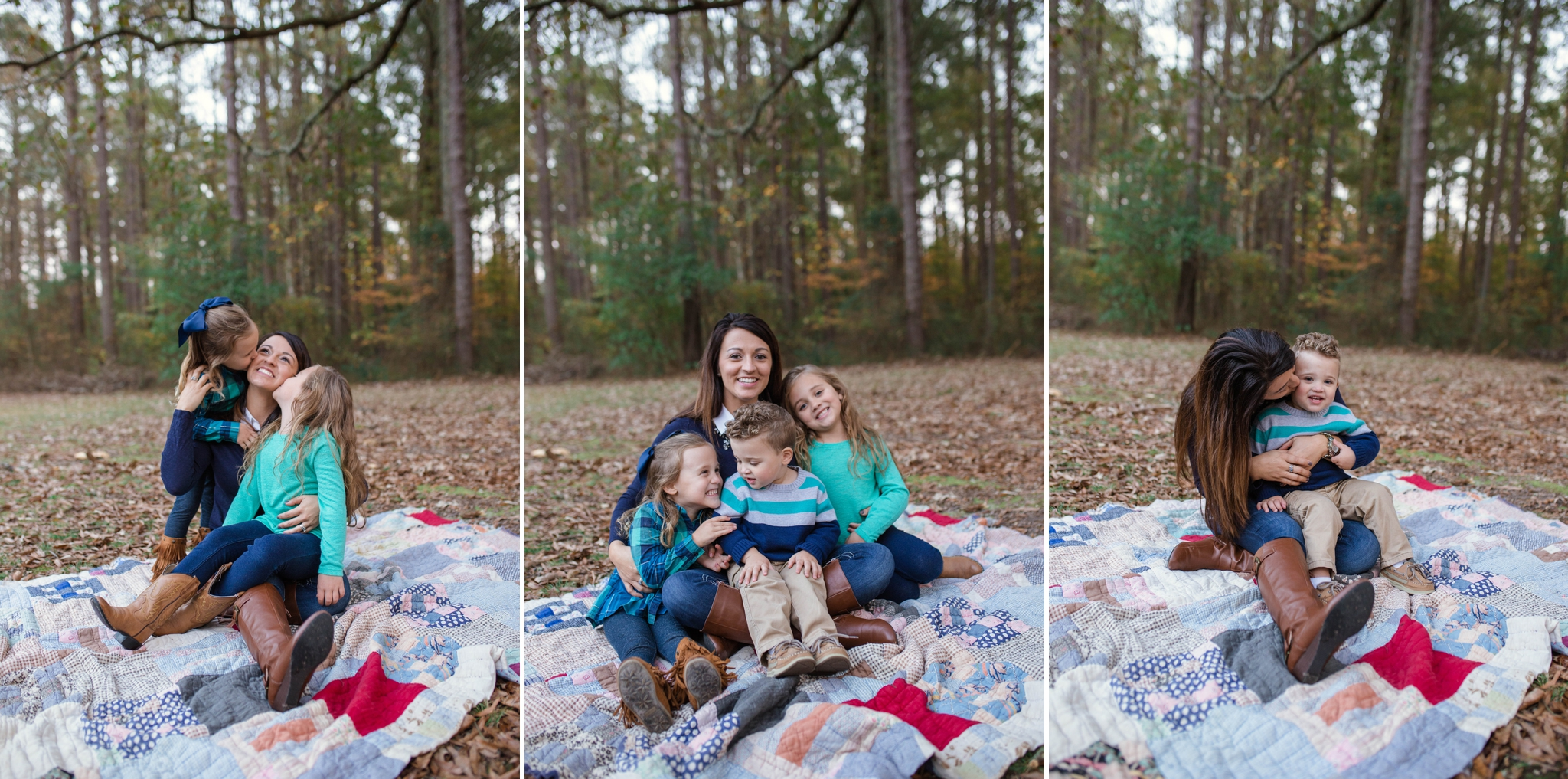 Family Photography at Clark Park in Fayetteville North Carolina